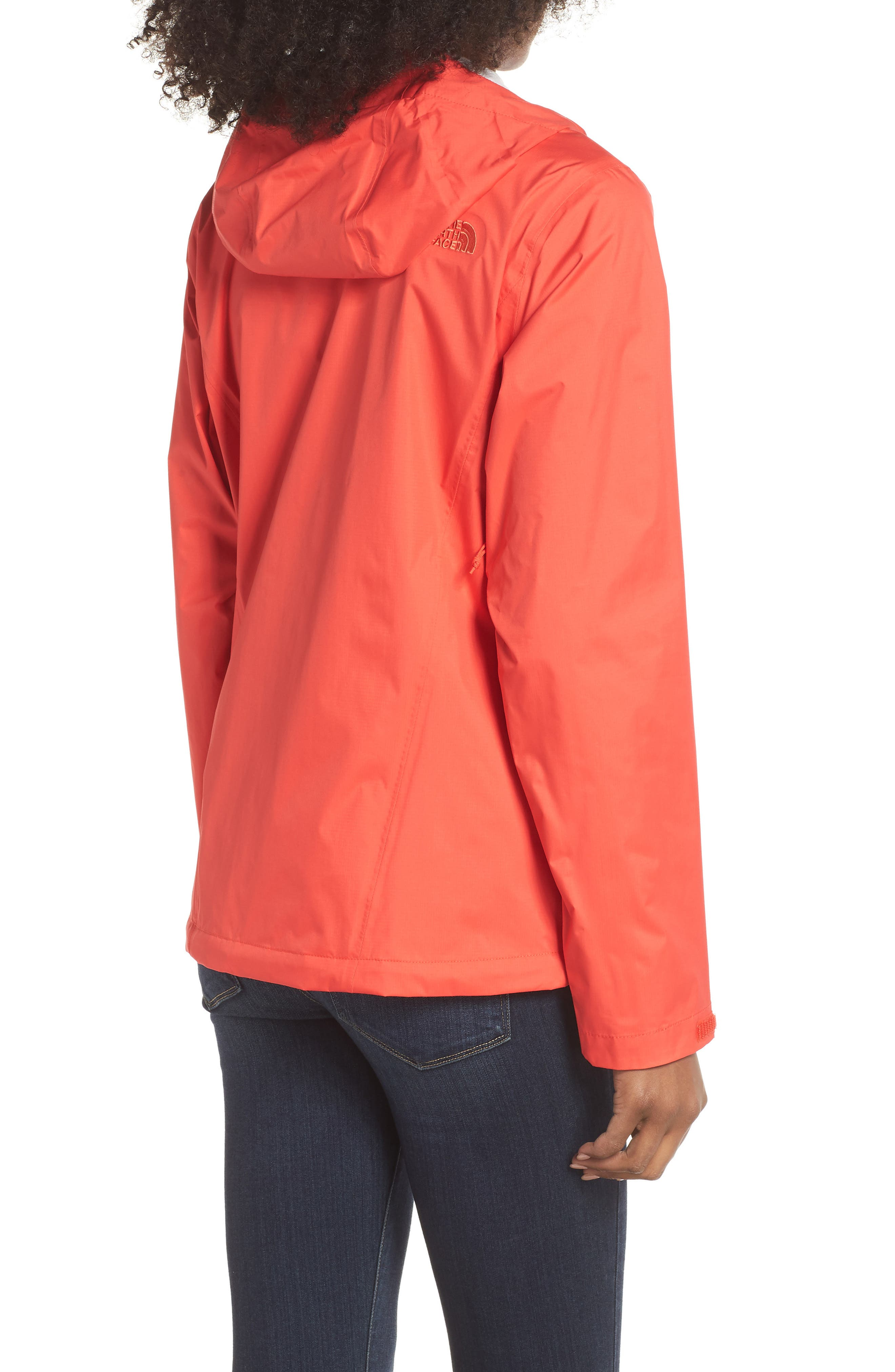 THE NORTH FACE, Venture 2 Waterproof Jacket, Alternate thumbnail 2, color, JUICY RED