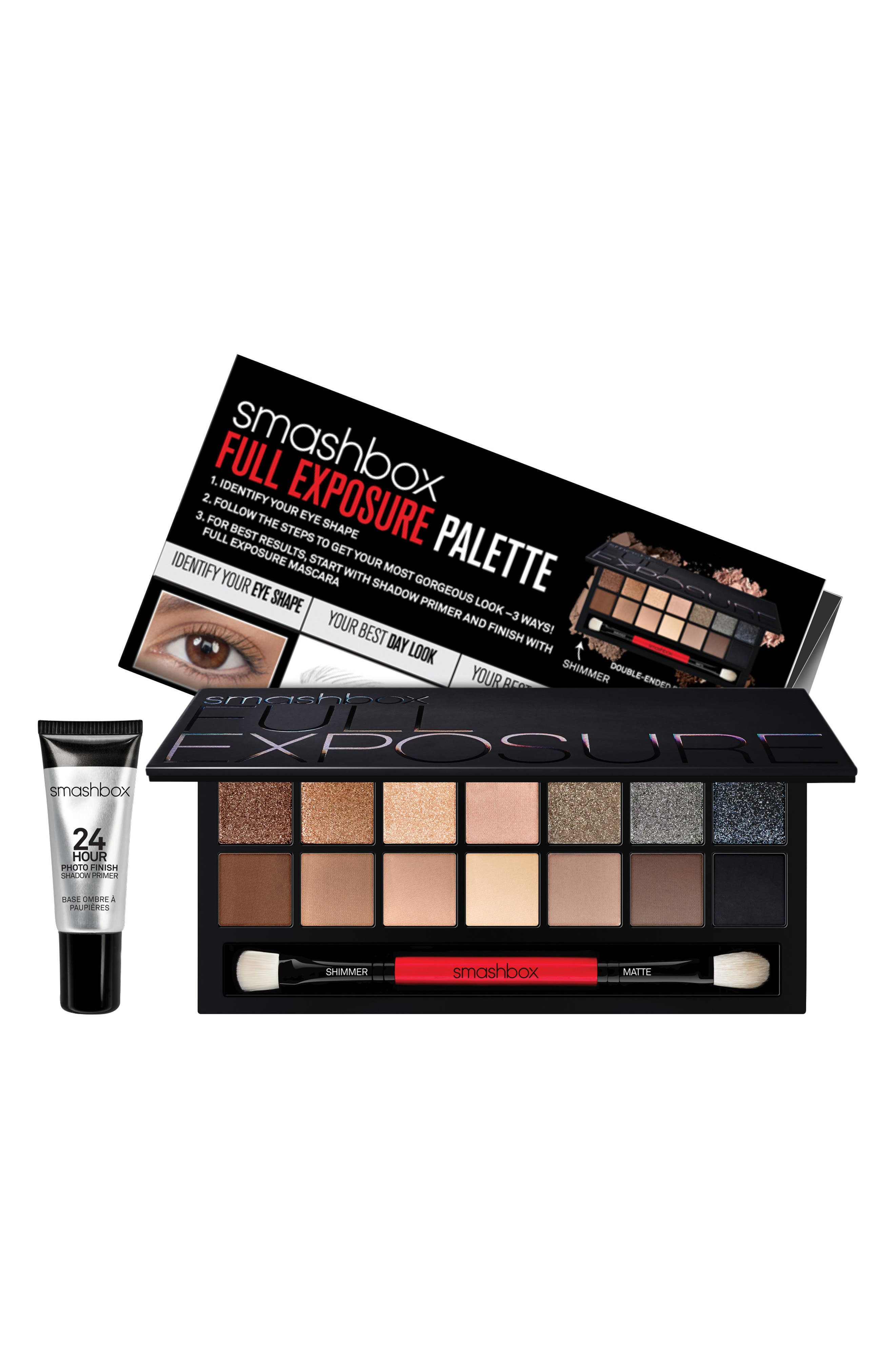 SMASHBOX, Full Exposure Eye Palette with Primer, Alternate thumbnail 2, color, NO COLOR