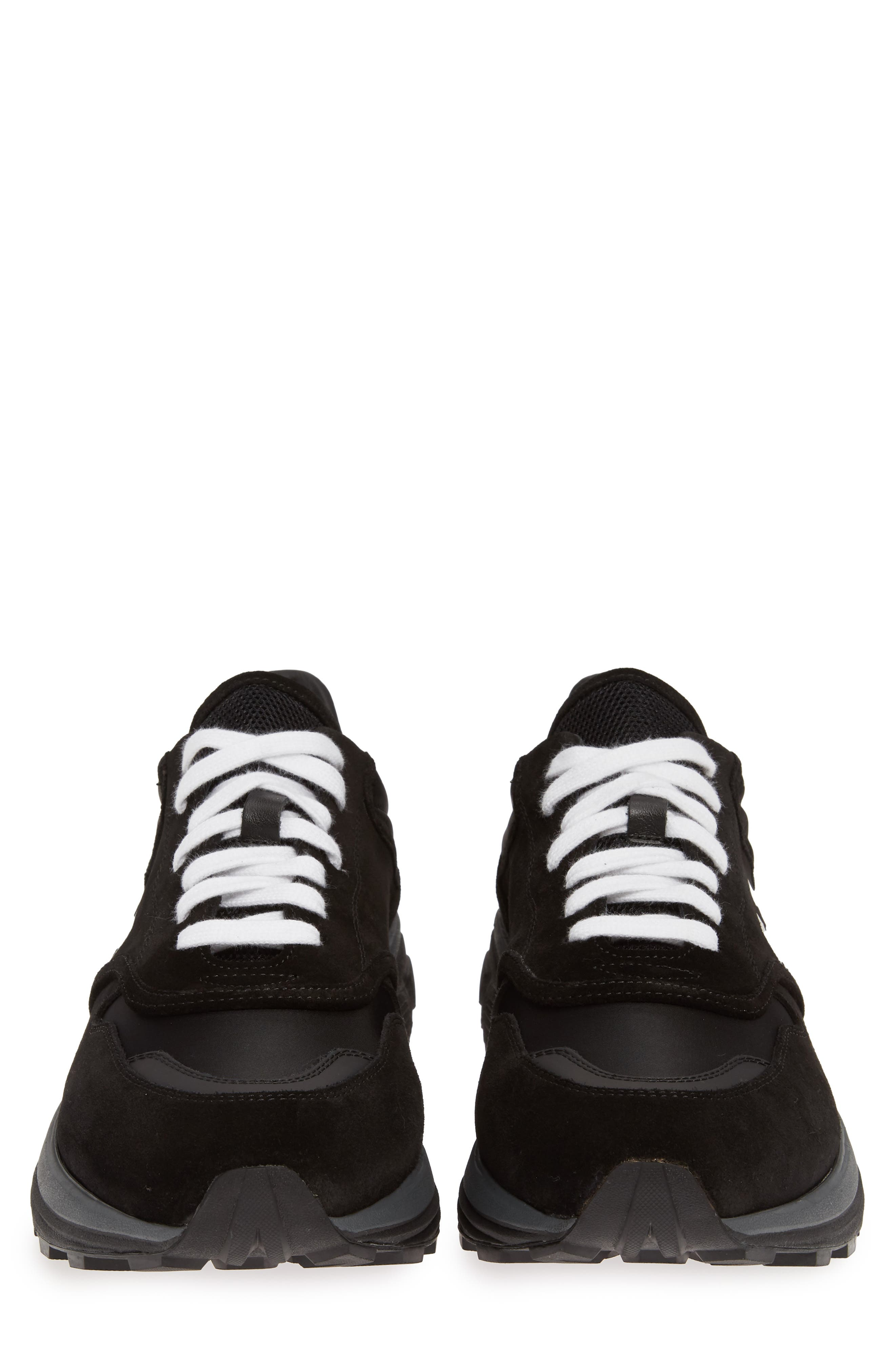 OFF-WHITE, Jogger Sneaker, Alternate thumbnail 5, color, BLACK/ WHITE