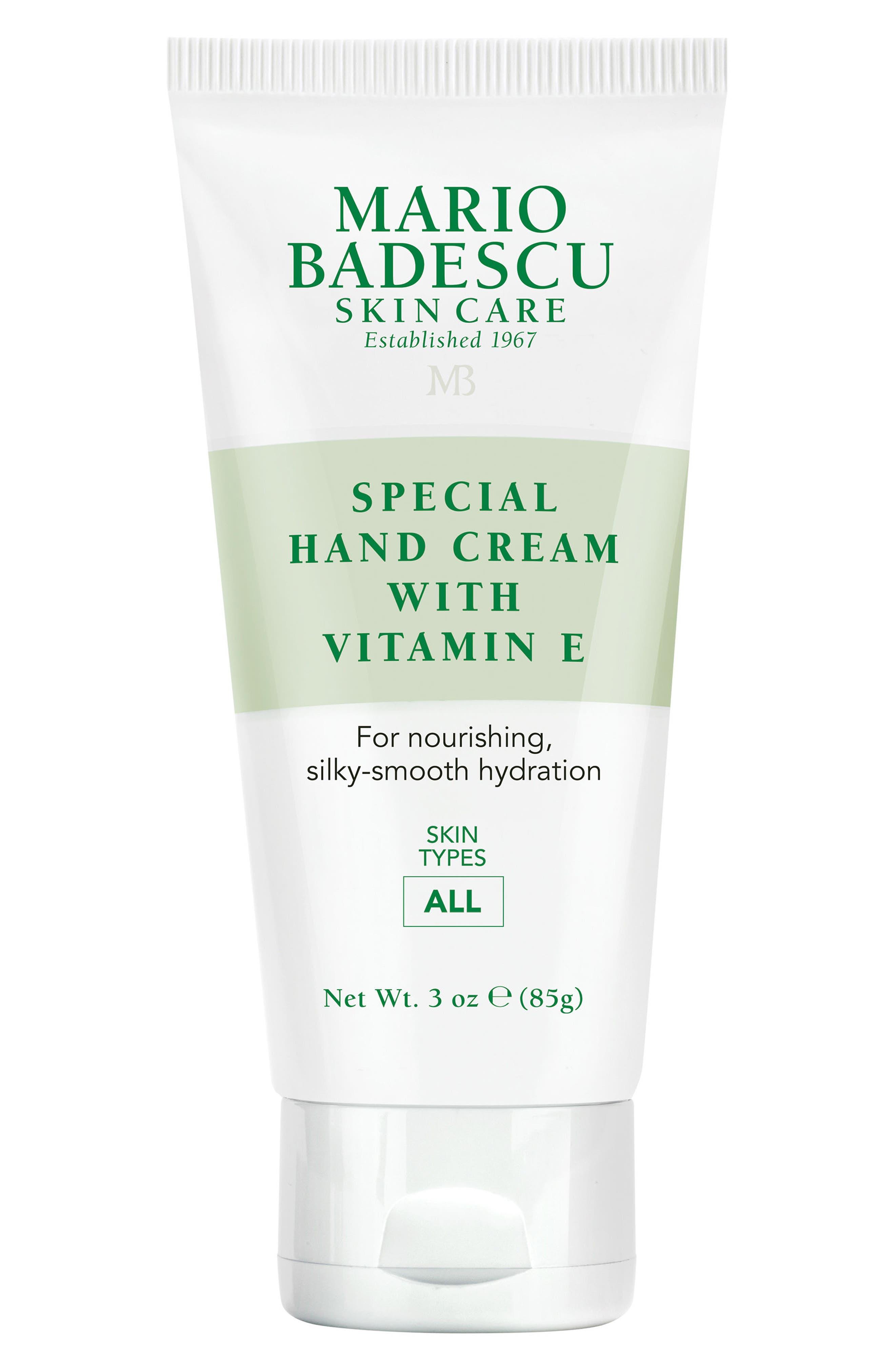 MARIO BADESCU, Special Hand Cream with Vitamin E, Main thumbnail 1, color, NO COLOR