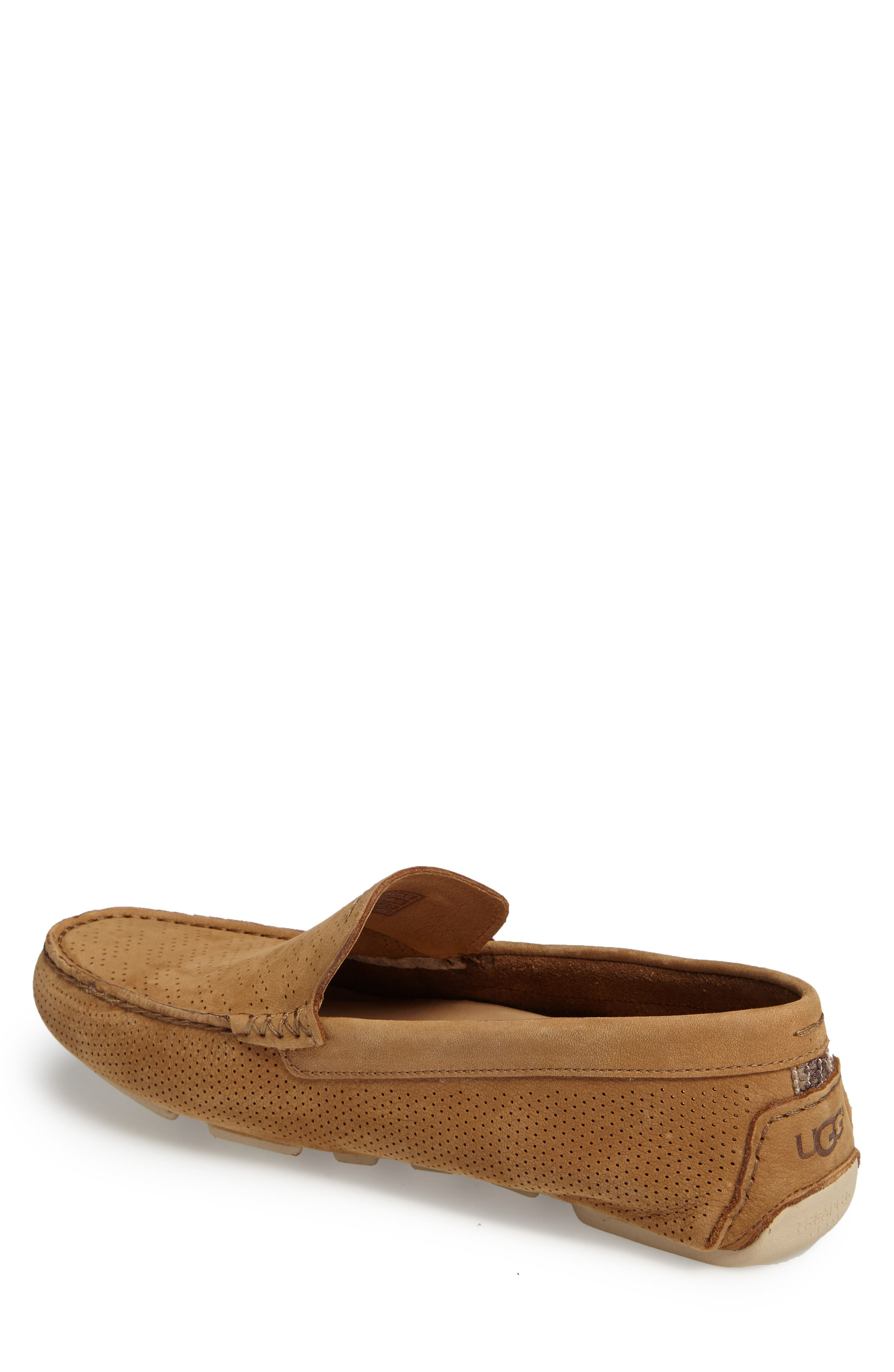 UGG<SUP>®</SUP>, Henrick Twinsole<sup>®</sup> Driving Shoe, Alternate thumbnail 2, color, TAMARIND