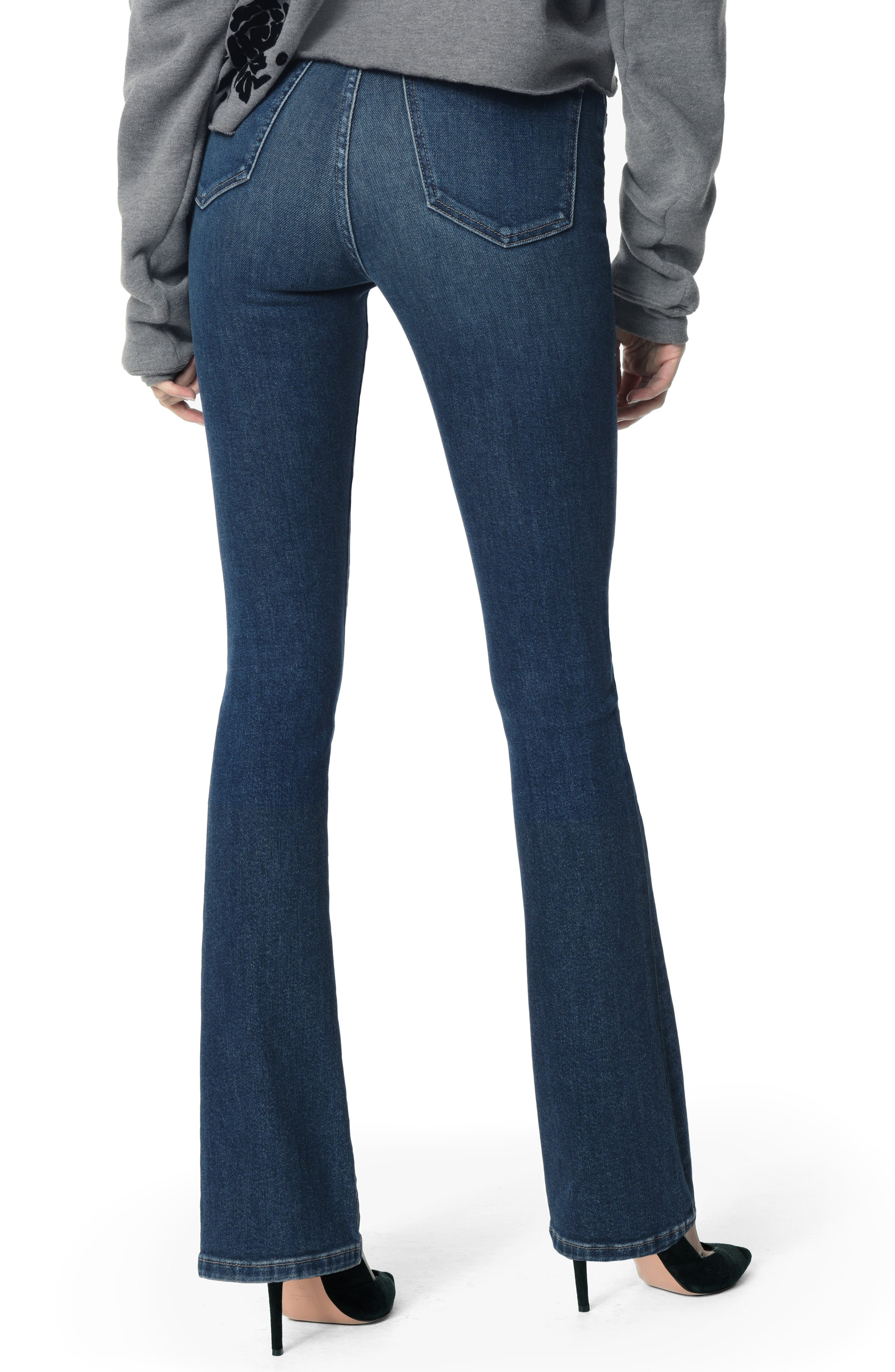 JOE'S, Honey Curvy High Waist Bootcut Jeans, Alternate thumbnail 2, color, 420