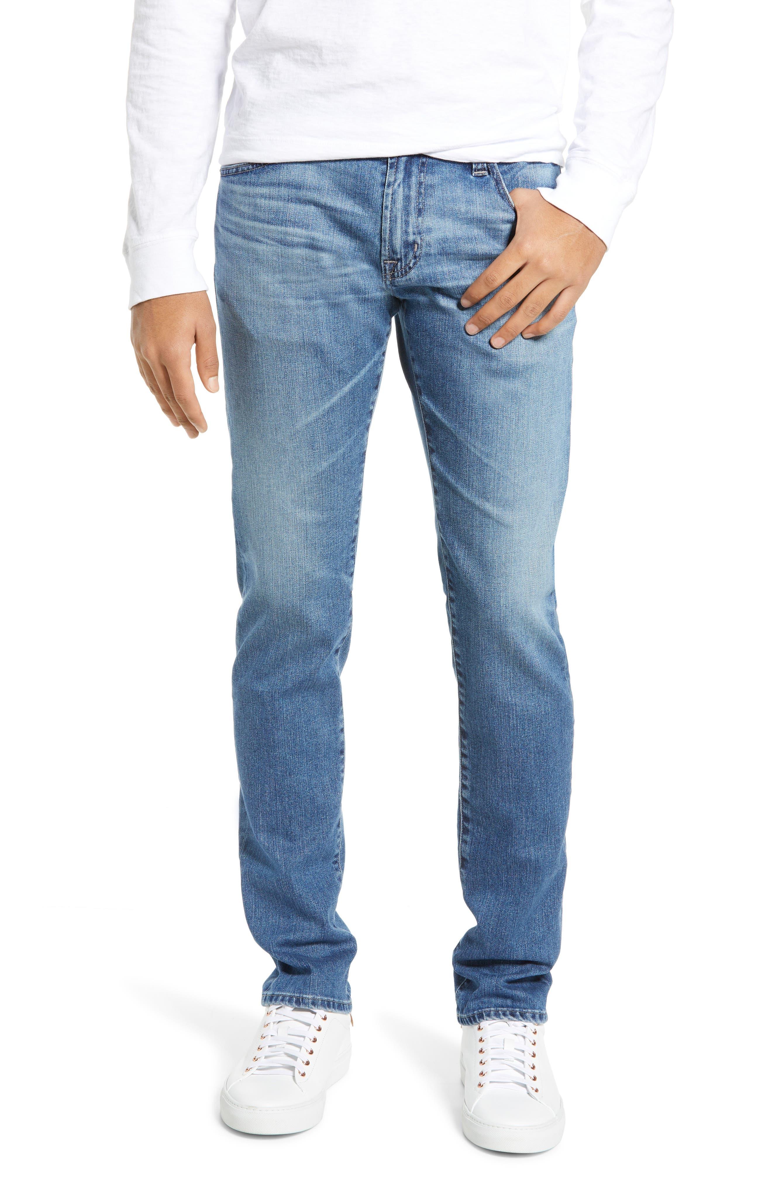 AG, Tellis Slim Fit Jeans, Main thumbnail 1, color, 16 YEARS EAVES