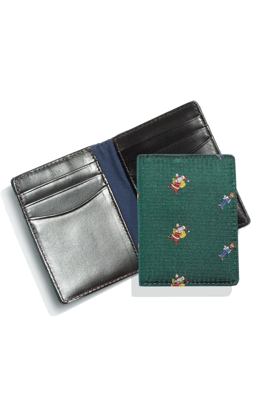 JACK SPADE, 'Silk Club' Vertical Wallet, Main thumbnail 1, color, 960