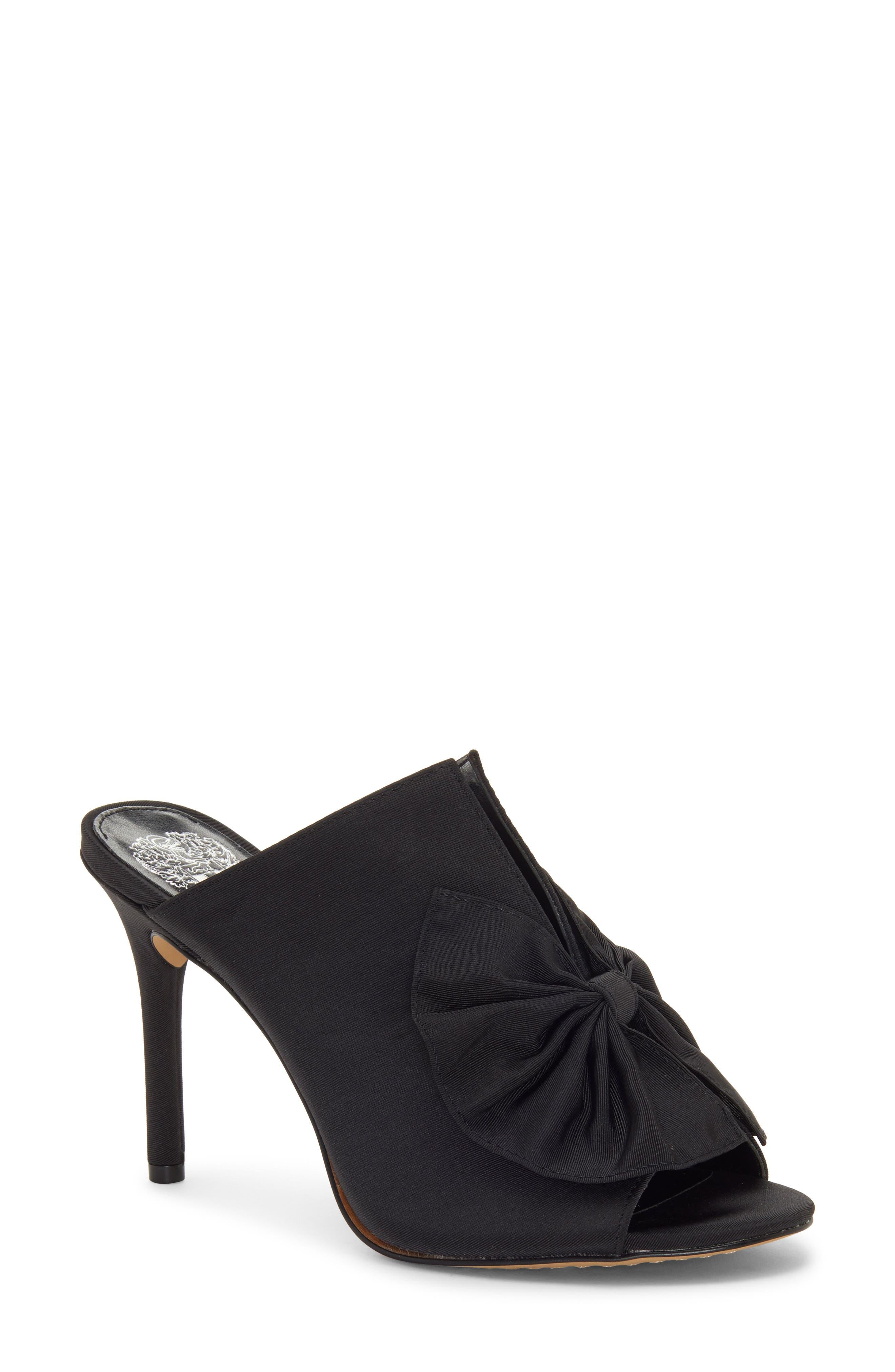 VINCE CAMUTO Cachita Sandal, Main, color, BLACK 01 FABRIC