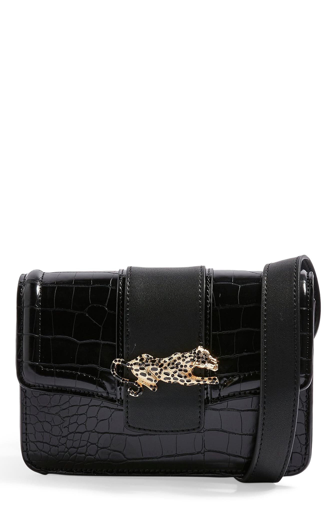 Cheetah Belt Bag by Topshop