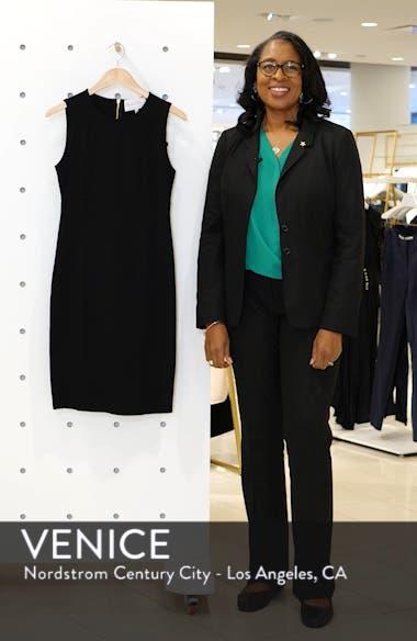 Sleeveless Sheath Dress, sales video thumbnail
