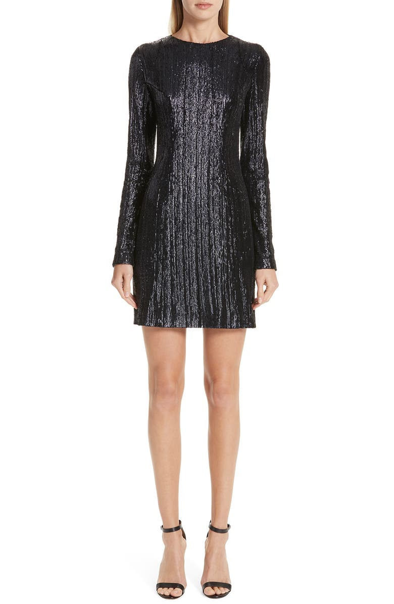 Galvan SEQUIN SHEATH MINIDRESS