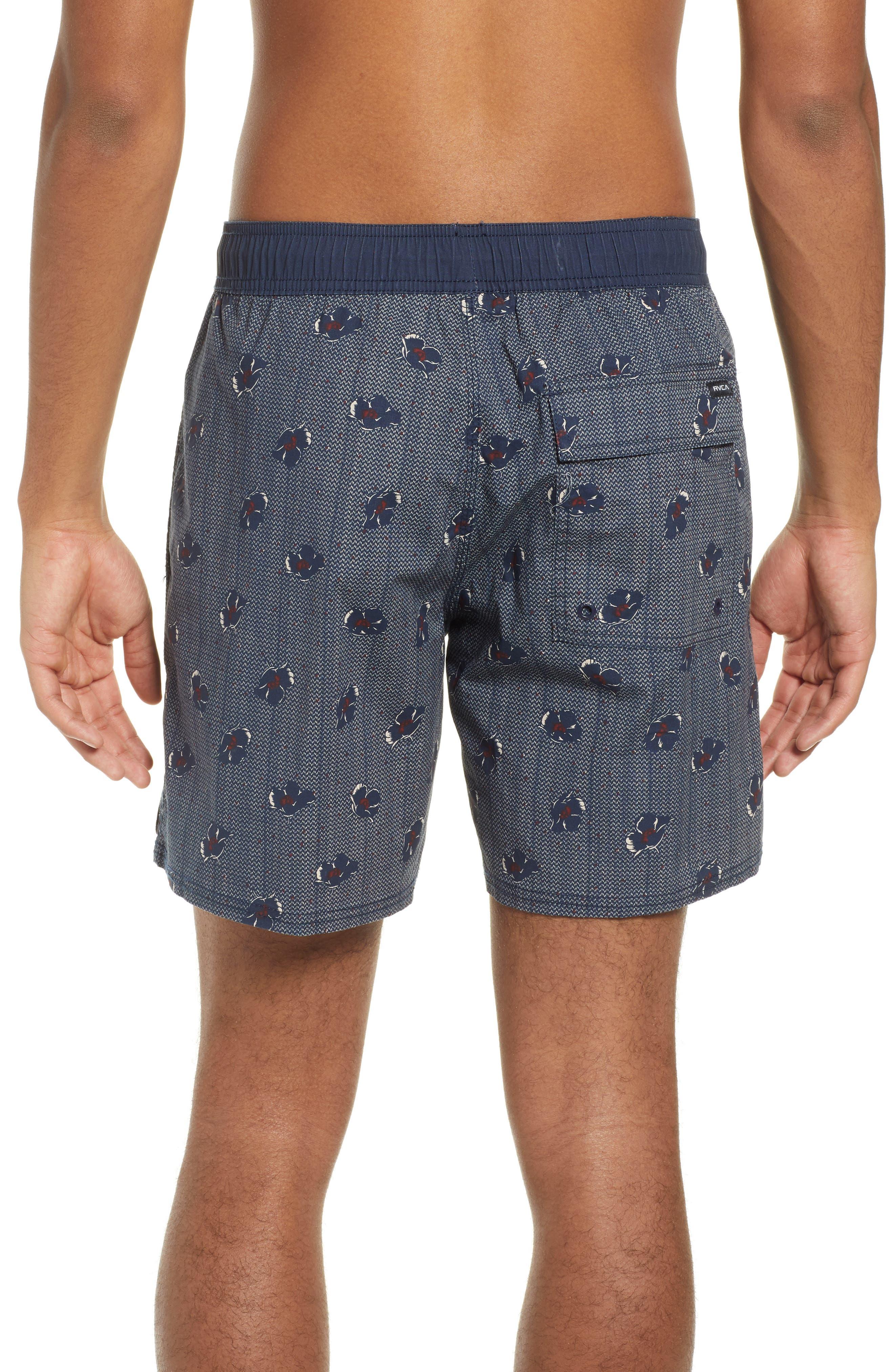 RVCA, Newton Hybrid Shorts, Alternate thumbnail 2, color, NAVY