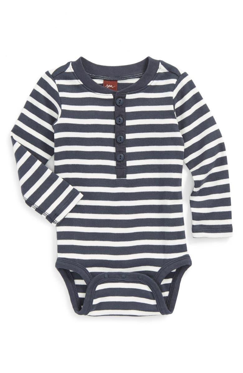 b6de10334 Tea Collection 'Sao Paulo' Henley Bodysuit (Baby Boys)   Nordstrom