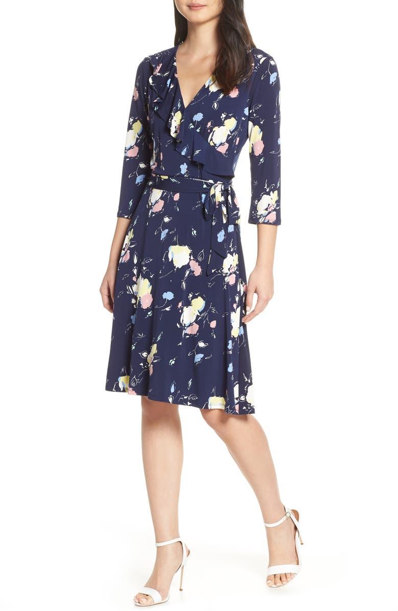 Leota Dresses FELICITY WRAP DRESS
