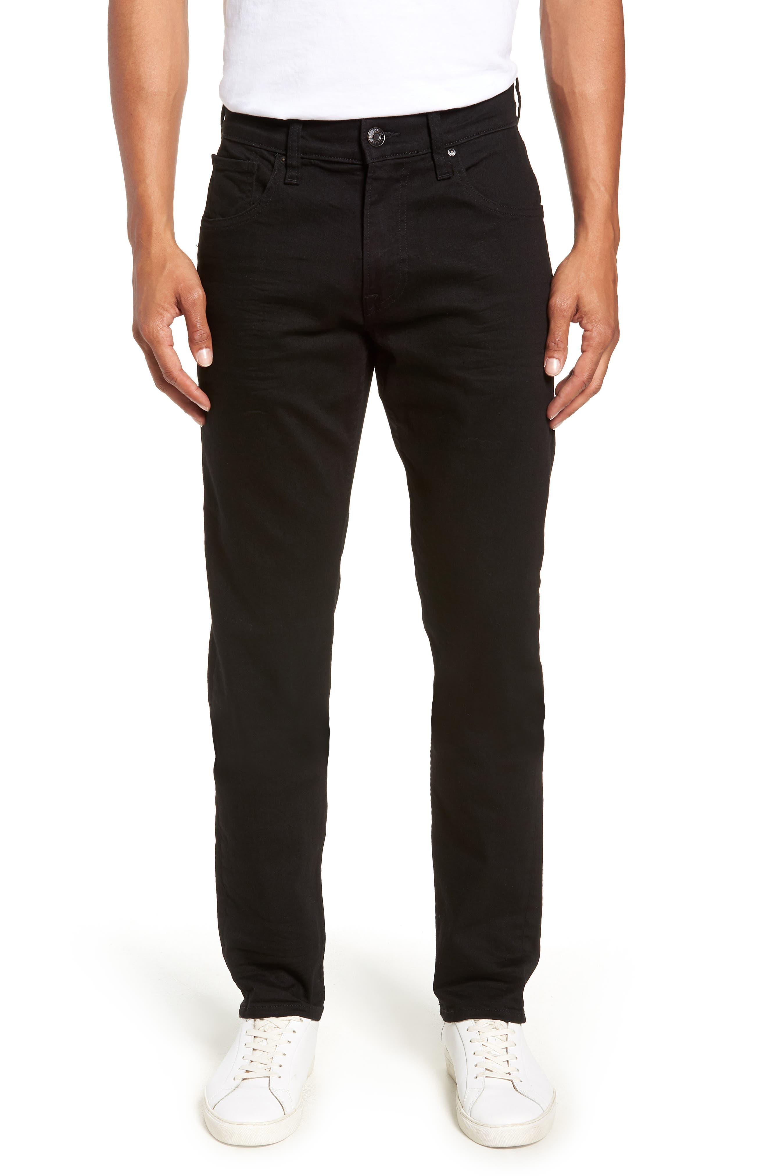HUDSON JEANS Blake Slim Fit Straight Leg Jeans, Main, color, HASKETT