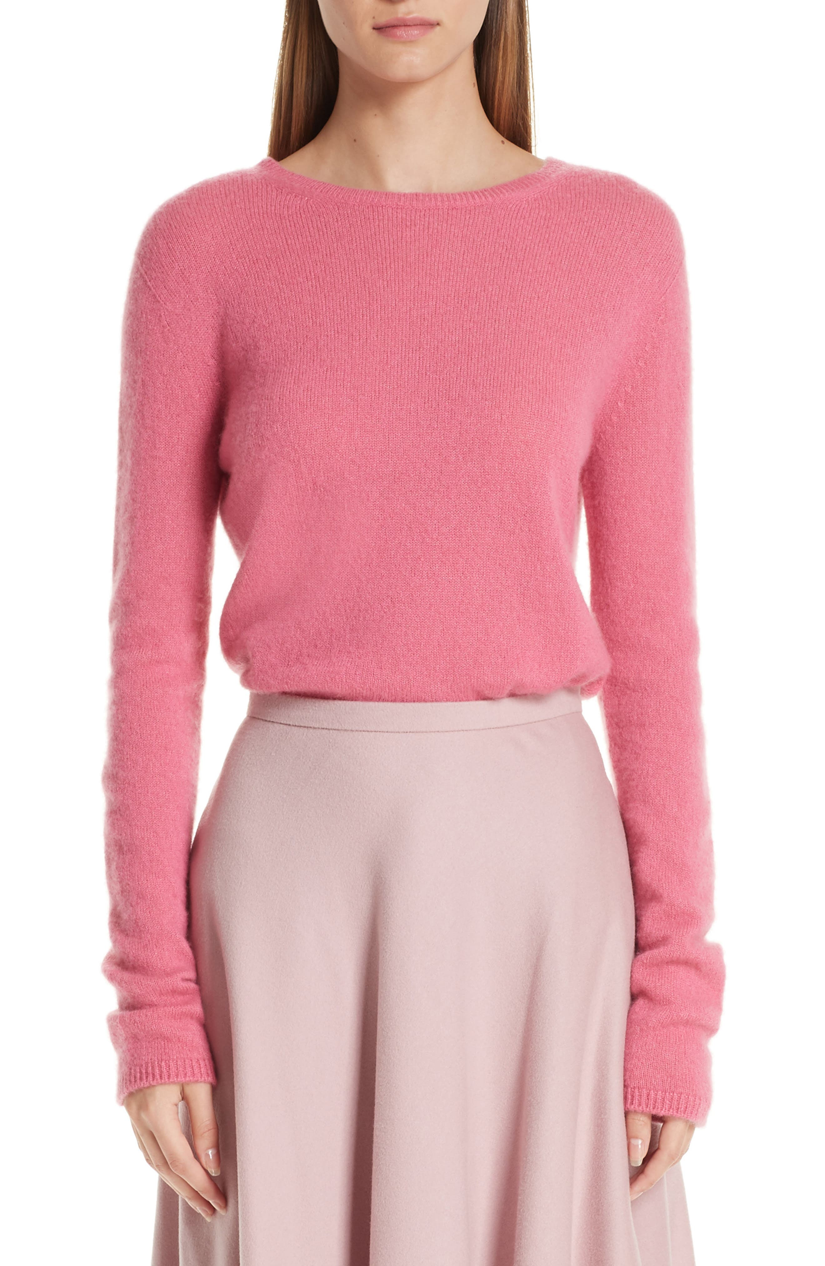 MAX MARA Stelvio Cashmere & Silk Sweater, Main, color, 672
