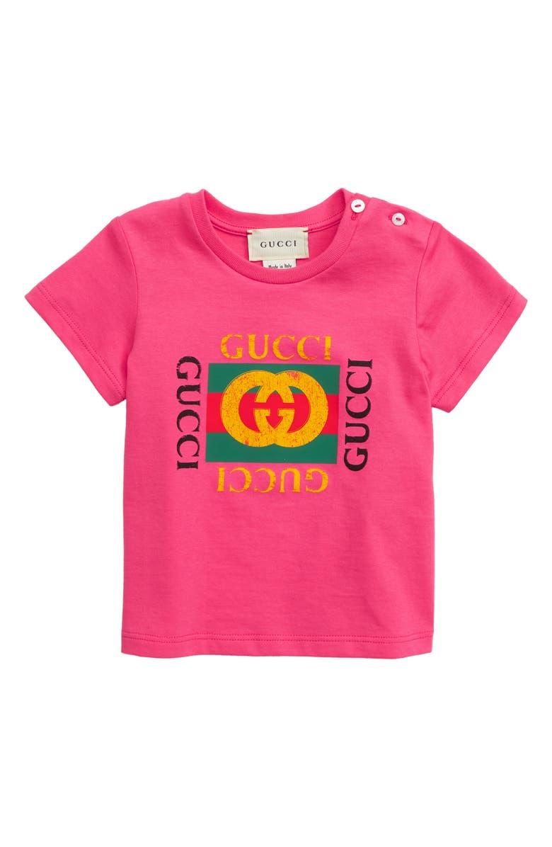 98695eaf05f Gucci Logo T-Shirt (Baby Boys)