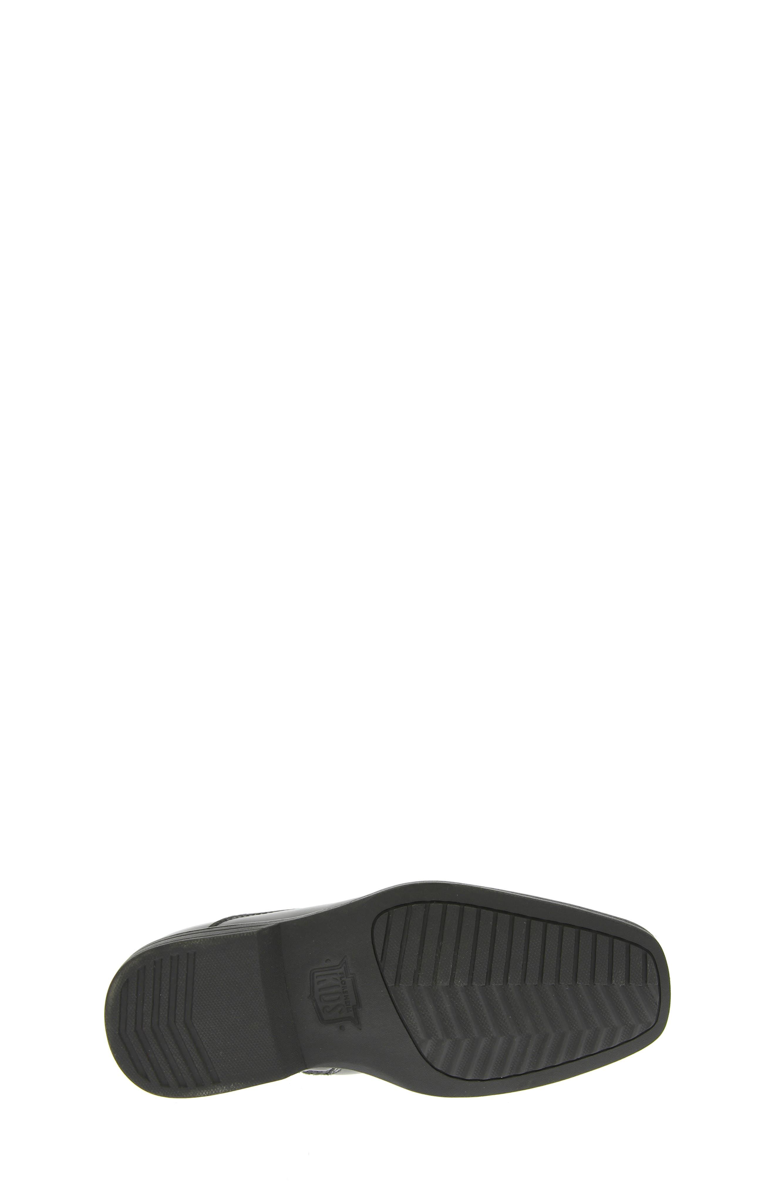FLORSHEIM, Reveal Chelsea Boot, Alternate thumbnail 9, color, BLACK