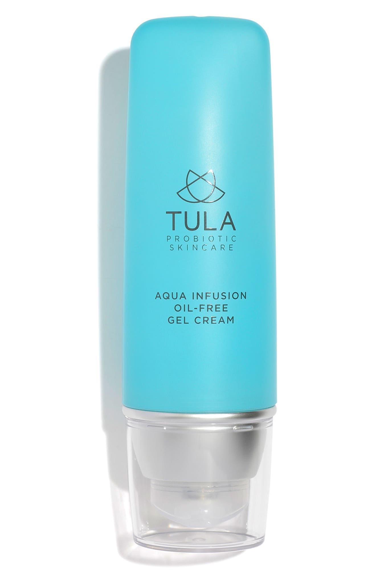 TULA PROBIOTIC SKINCARE Aqua Infusion Oil-Free Gel Cream, Main, color, NO COLOR