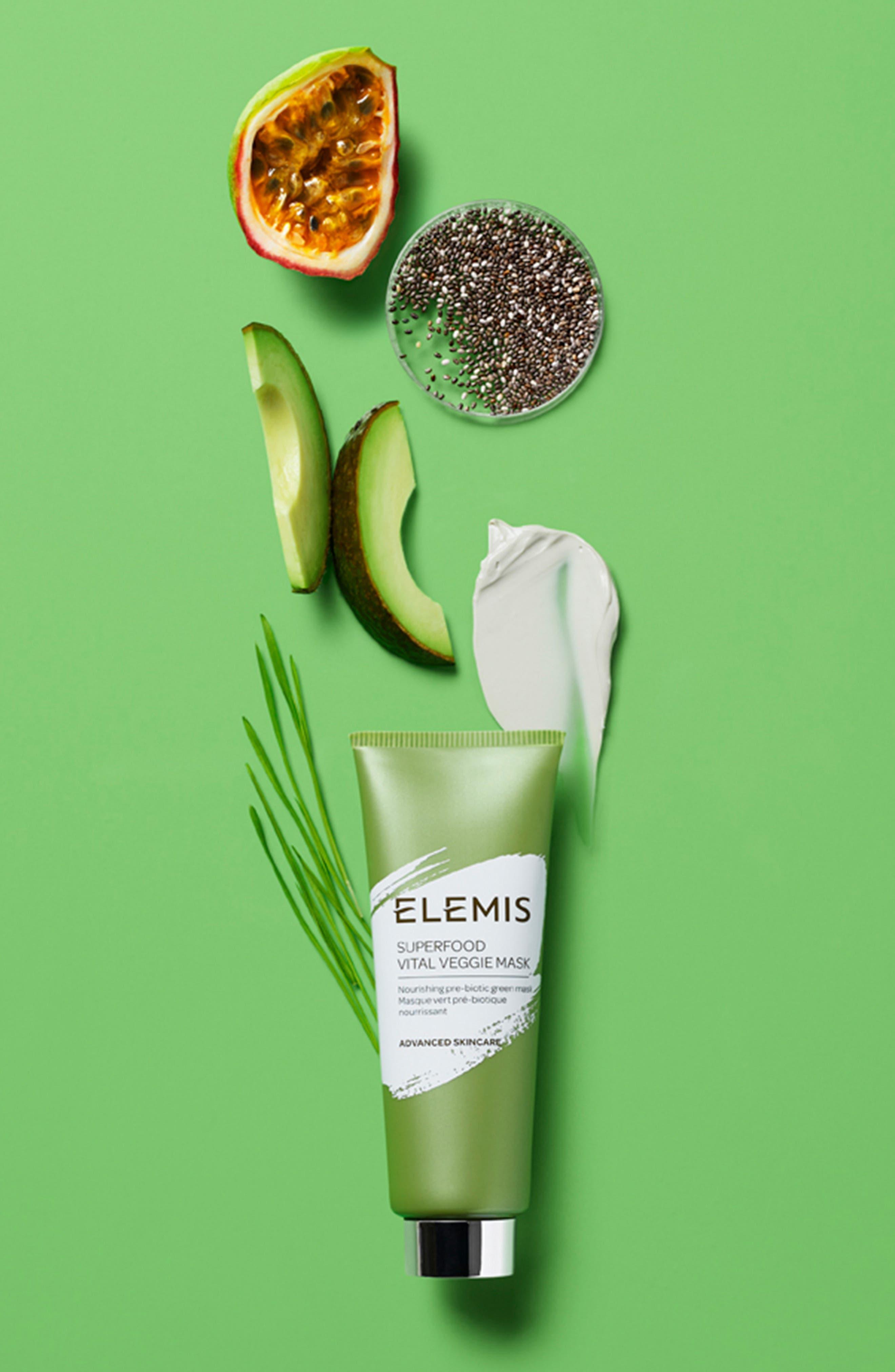 ELEMIS, Superfood Vital Veggie Mask, Alternate thumbnail 3, color, NO COLOR