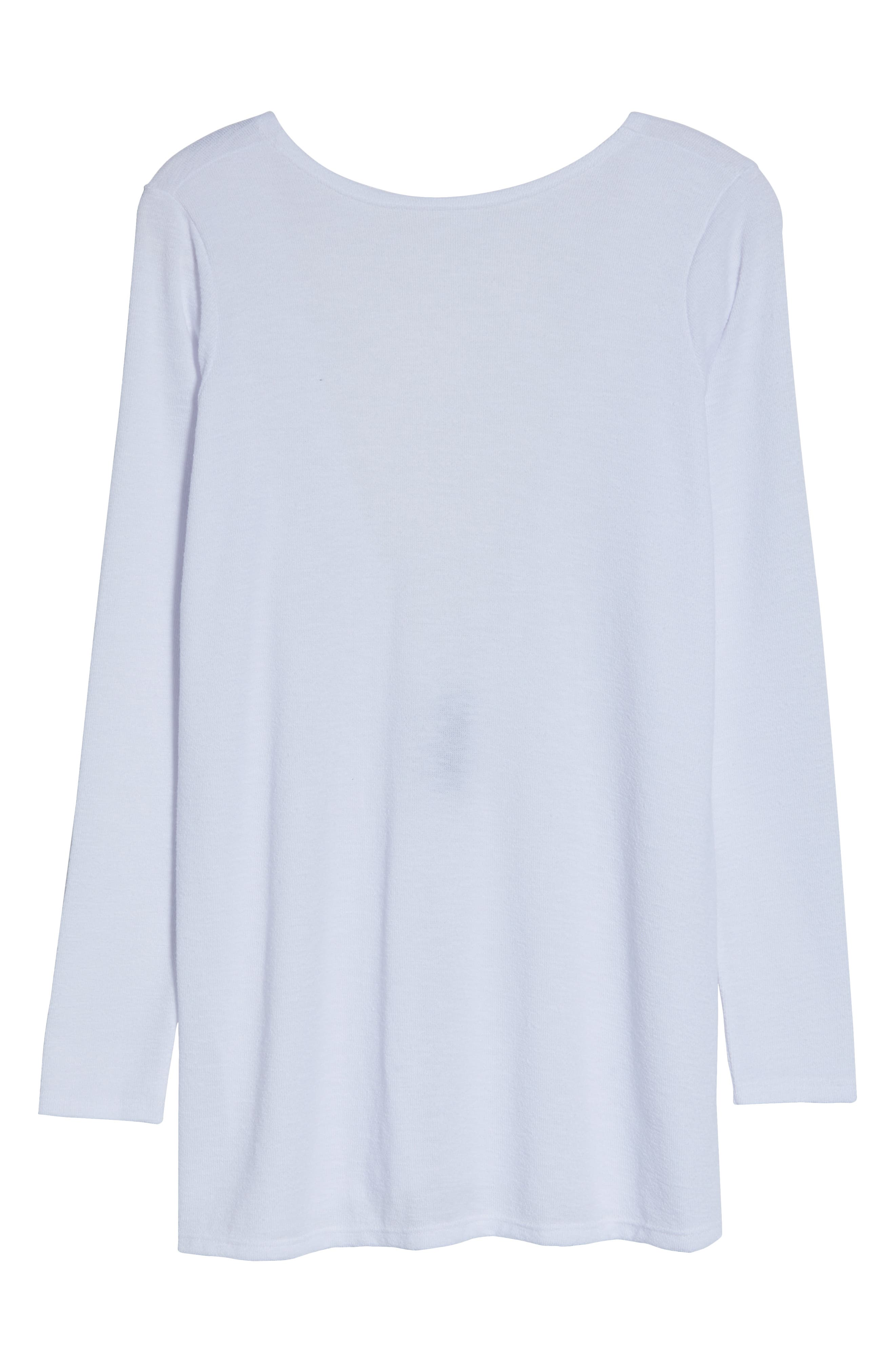 SOMETHING NAVY, Isla Cover-Up, Alternate thumbnail 8, color, WHITE