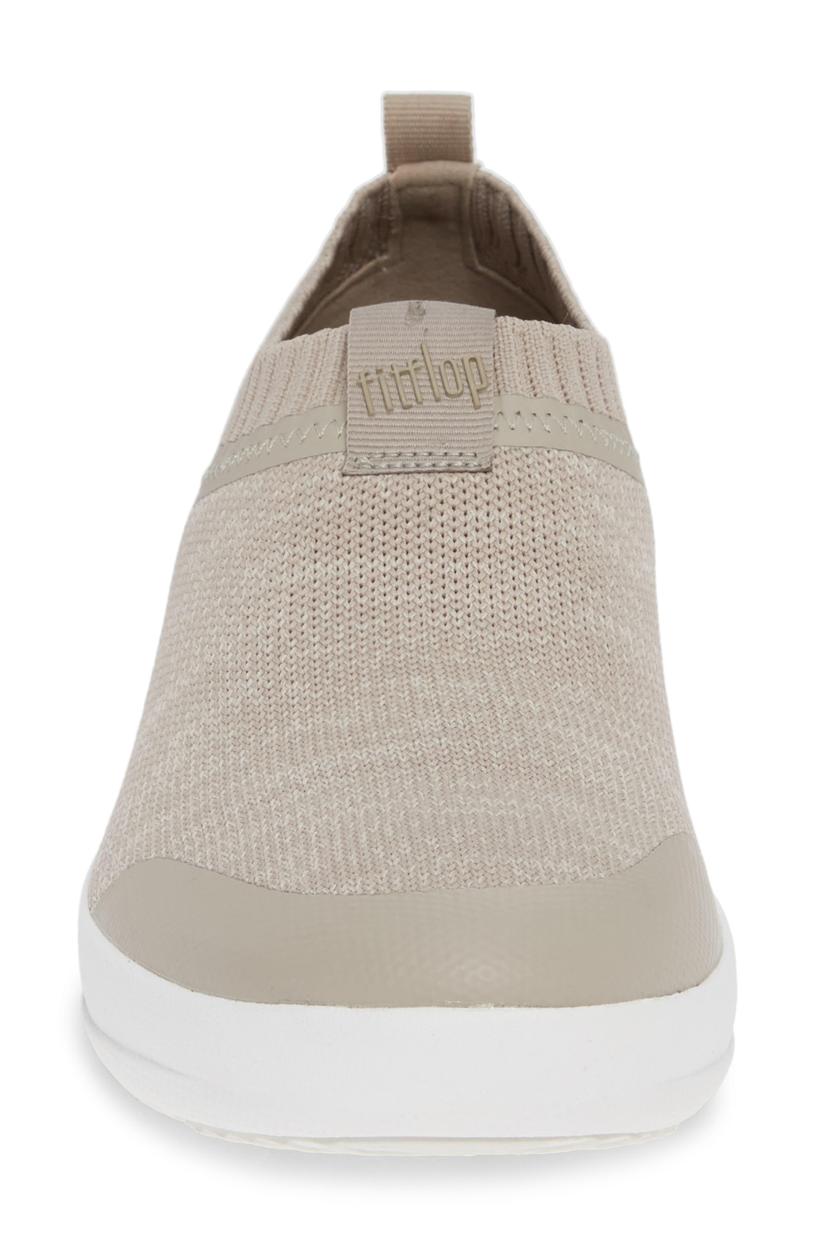 FITFLOP, Uberknit Slip-On Sneaker, Alternate thumbnail 4, color, 256