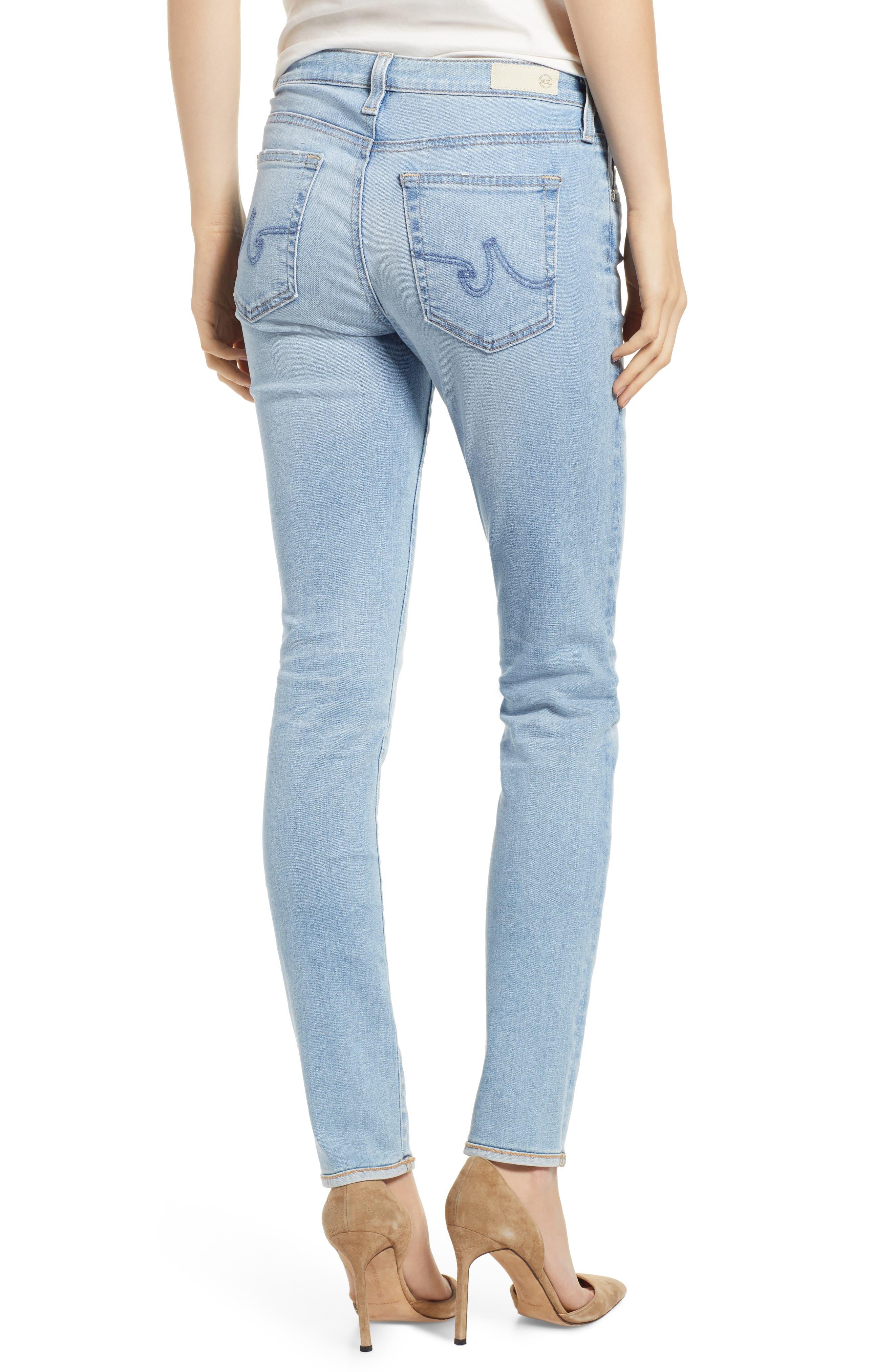 AG, Prima Ankle Cigarette Jeans, Alternate thumbnail 2, color, 27Y AVERSIONS