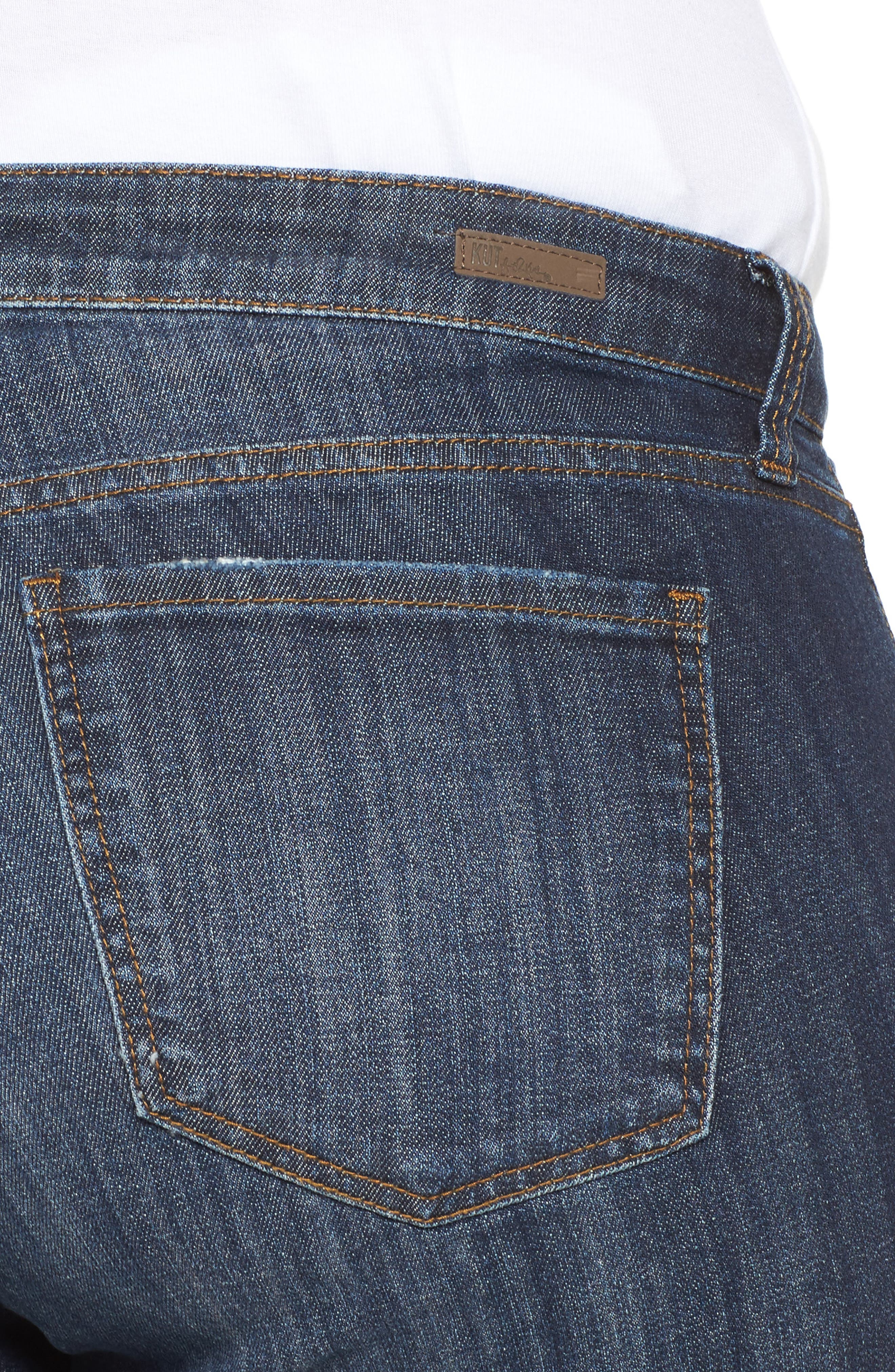 KUT FROM THE KLOTH, Catherine Boyfriend Jeans, Alternate thumbnail 5, color, 489