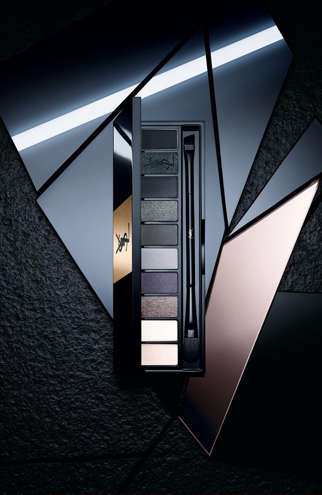 YVES SAINT LAURENT, Underground Couture Variation Ten-Color Expert Eye Palette, Alternate thumbnail 3, color, UNDERGROUND
