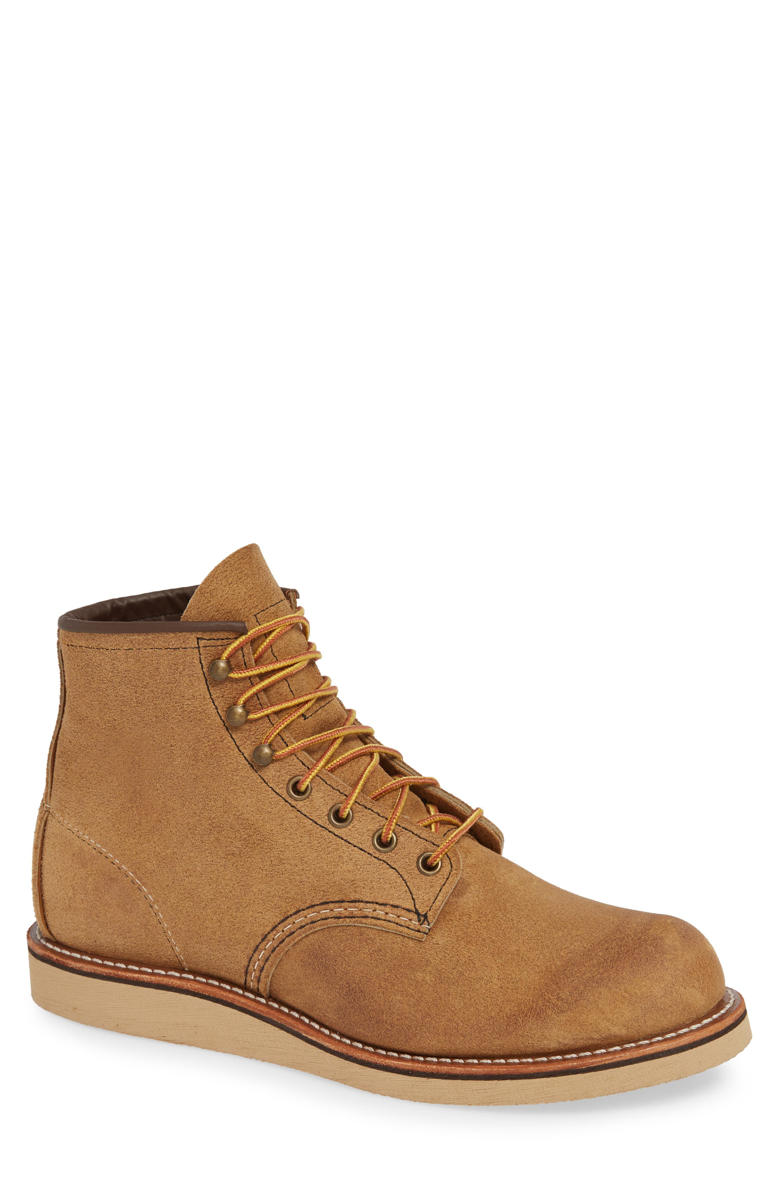 Red Wing Rover Plain Toe Boot, Beige