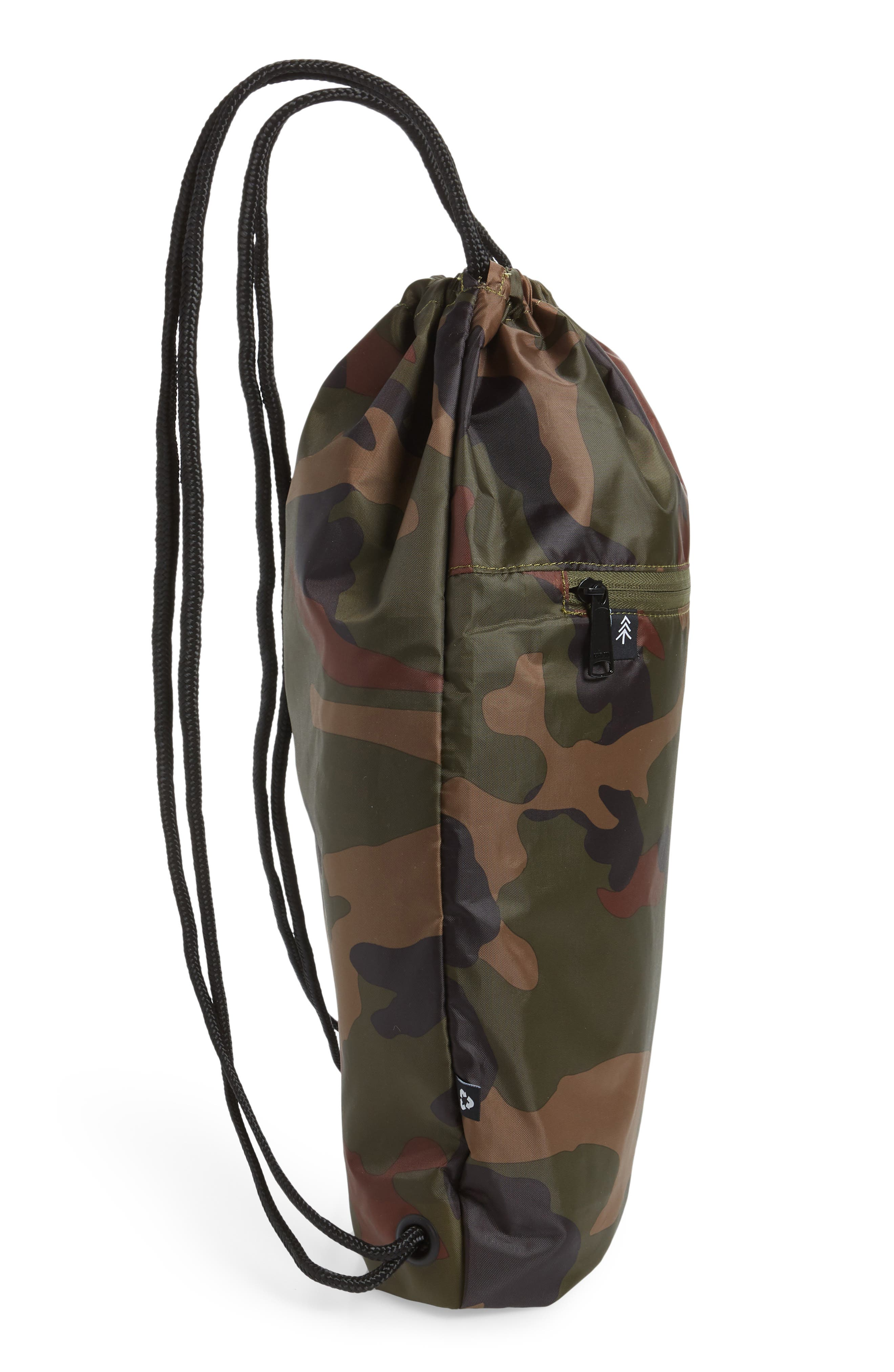 PARKLAND, The Rider Backpack, Alternate thumbnail 5, color, CLASSIC CAMO