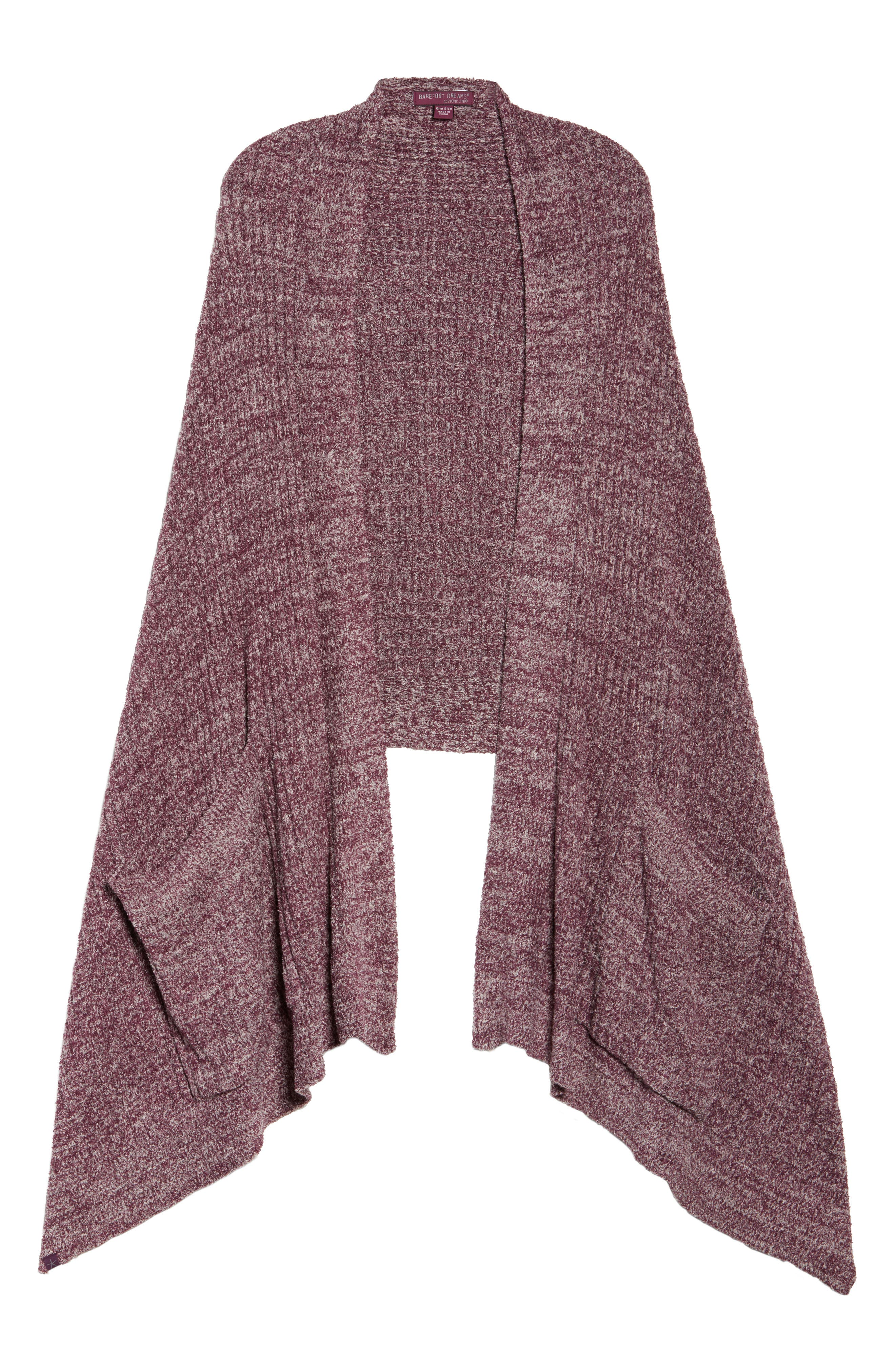 BAREFOOT DREAMS<SUP>®</SUP>, Cozychic Lite<sup>®</sup> Travel Shawl, Alternate thumbnail 6, color, 930