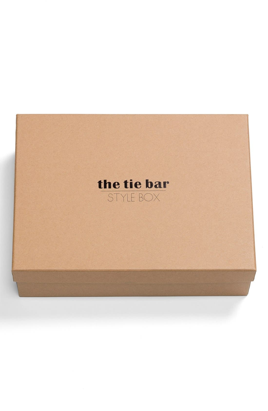 THE TIE BAR, Large Style Box, Alternate thumbnail 3, color, 401