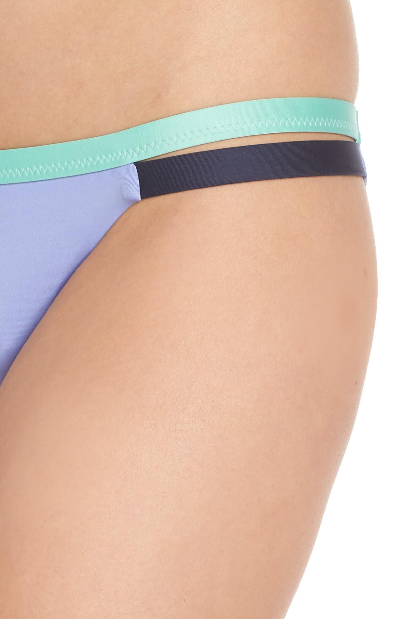 PATAGONIA, Nanogrip Bikini Bottoms, Alternate thumbnail 5, color, LIGHT VIOLET BLUE