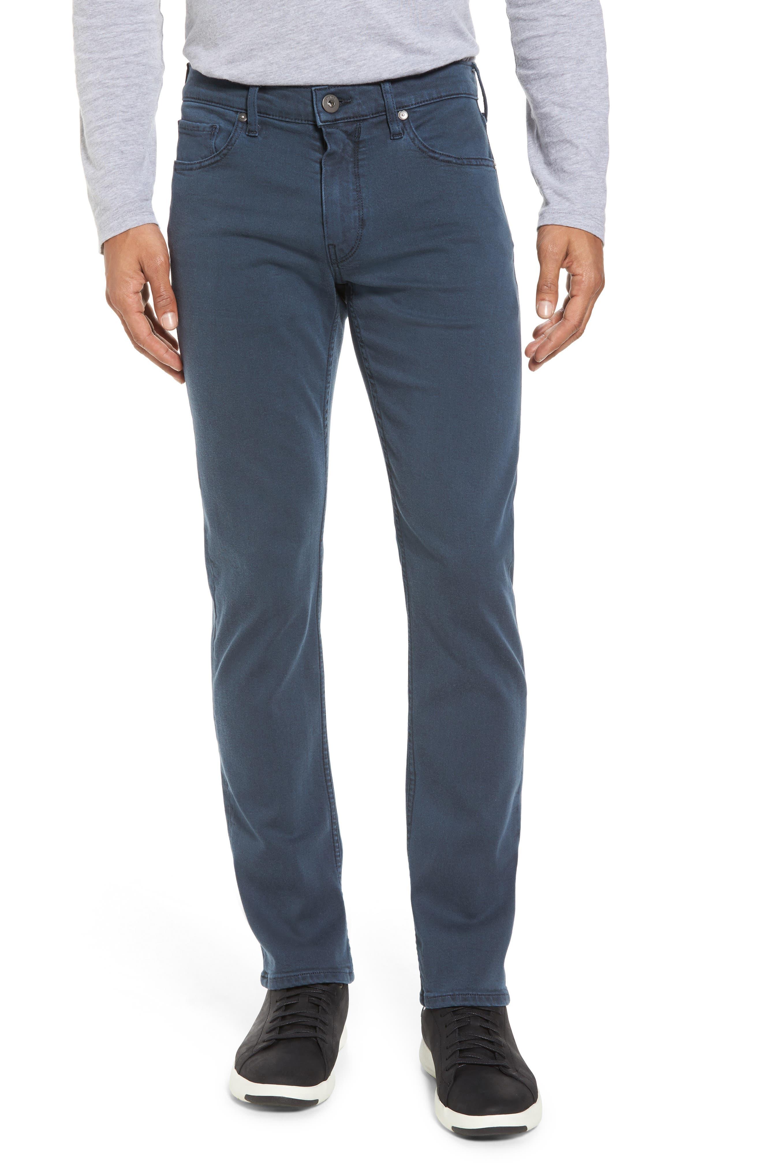 PAIGE, Lennox Slim Fit Jeans, Main thumbnail 1, color, 400