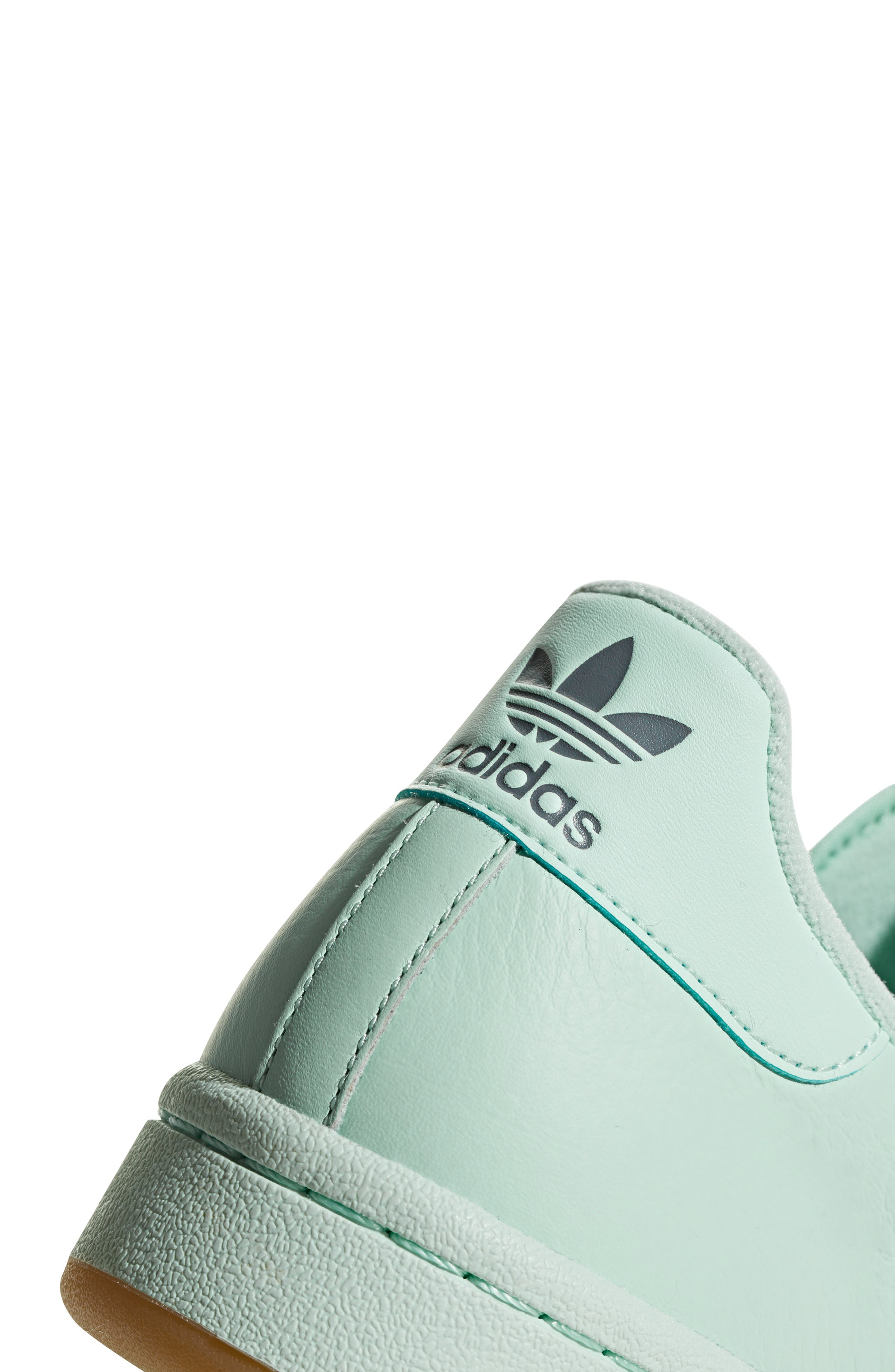 ADIDAS, Continental 80 Sneaker, Alternate thumbnail 8, color, ICE MINT/ NAVY/ GREY