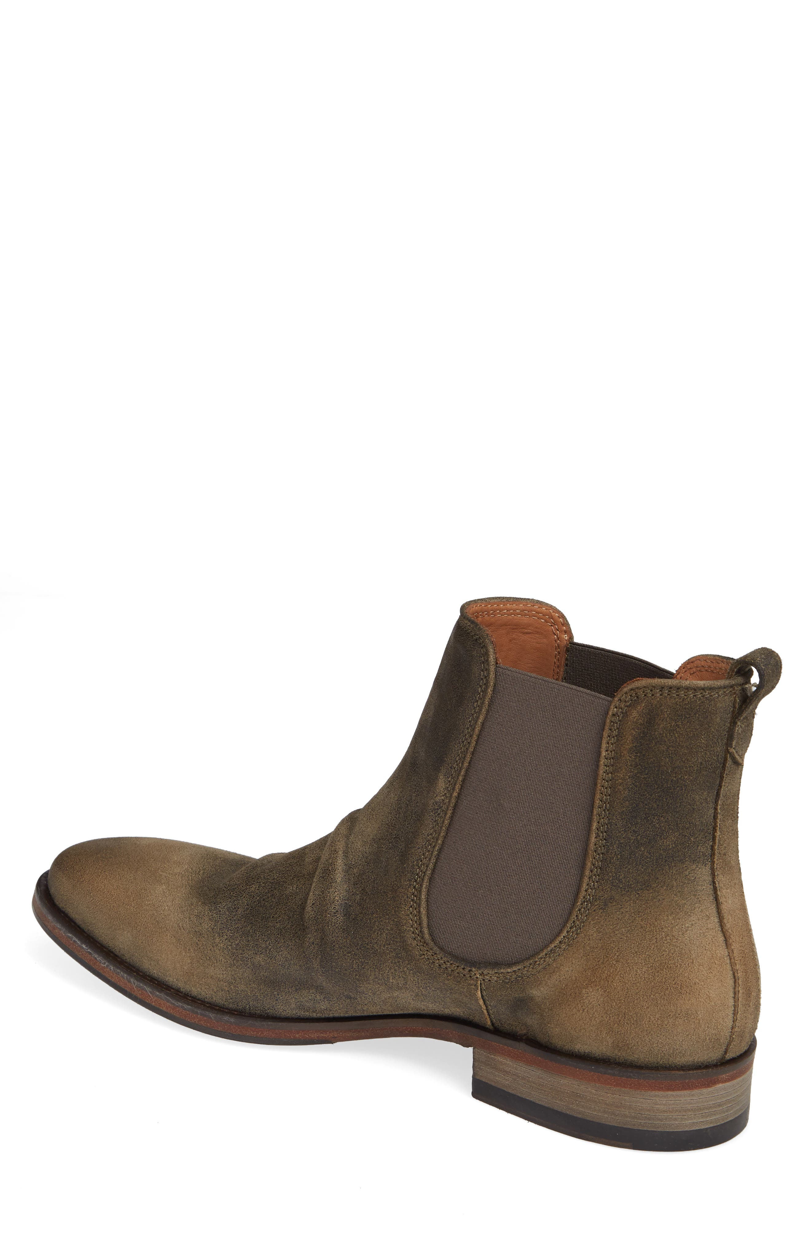 JOHN VARVATOS COLLECTION, Fleetwood Chelsea Boot, Alternate thumbnail 2, color, 237