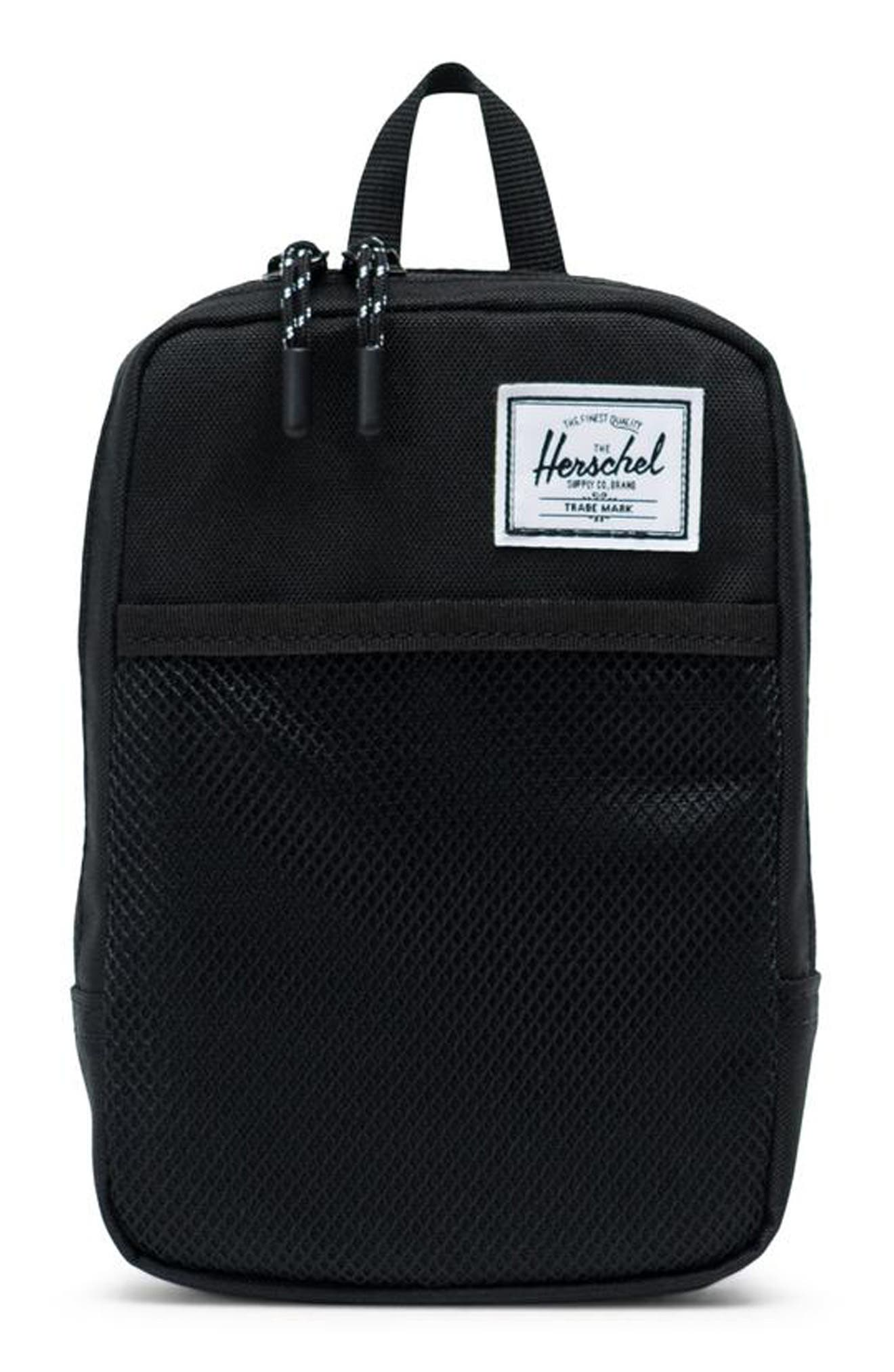 HERSCHEL SUPPLY CO., Large Sinclair Crossbody Bag, Main thumbnail 1, color, BLACK