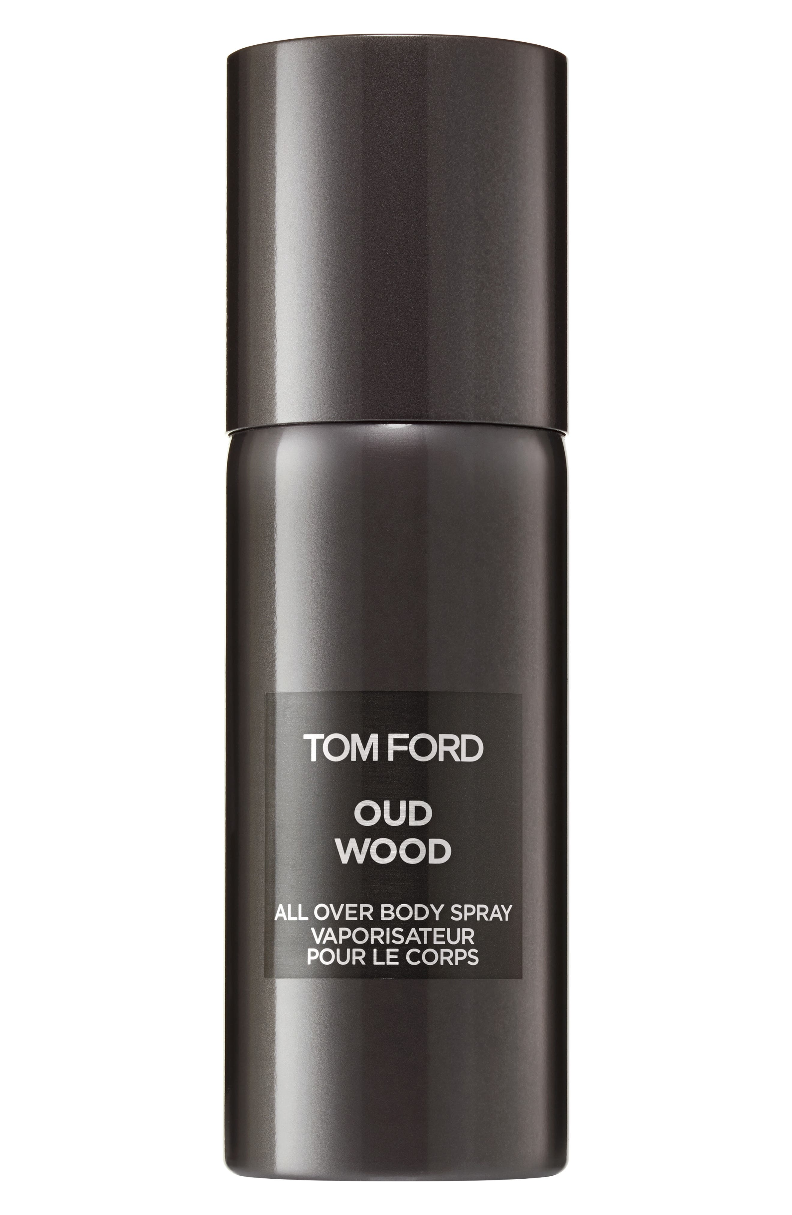 TOM FORD, Private Blend Oud Wood All Over Body Spray, Main thumbnail 1, color, NO COLOR