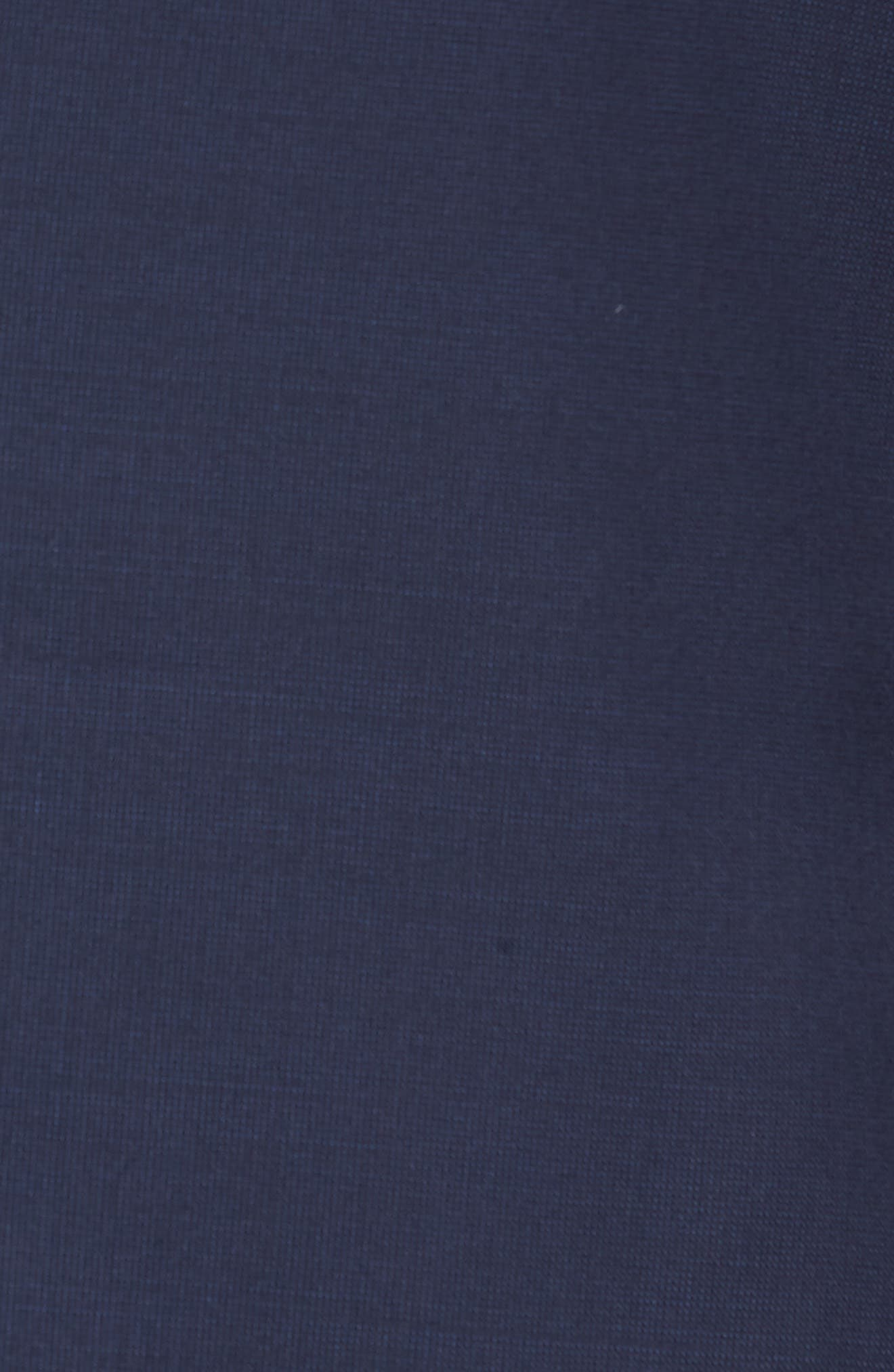 TED BAKER LONDON, Trevi Slim Fit Wool Blazer, Alternate thumbnail 6, color, NAVY