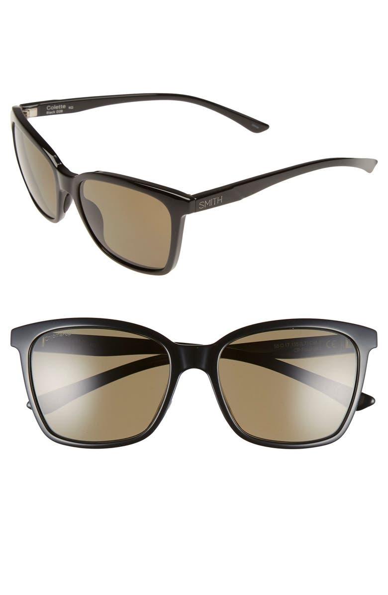 1d727273854 SMITH  Colette  55mm ChromaPop sup ™  sup  Polarized Sunglasses