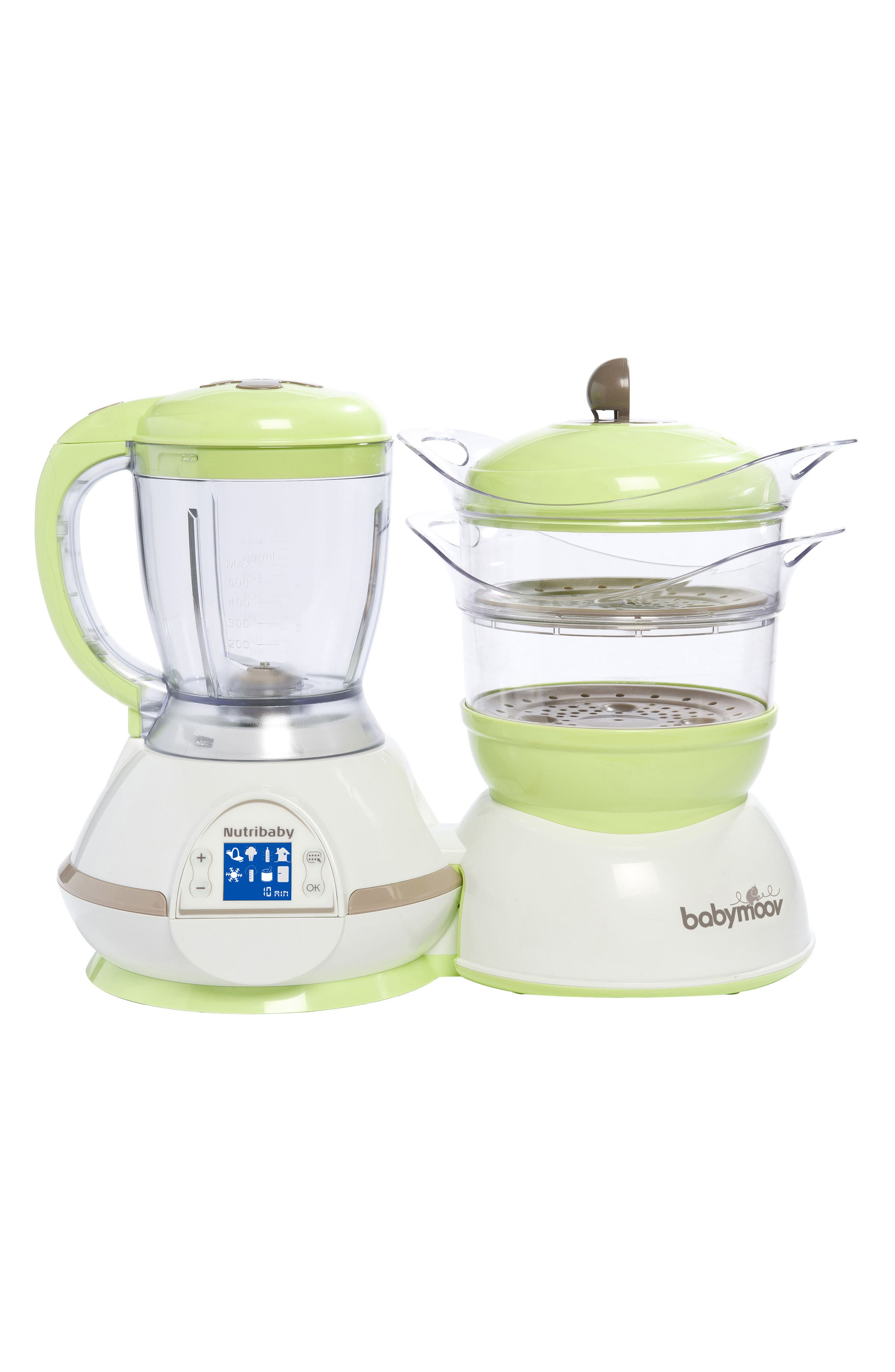 Infant Babymoov Nutribaby 5In1 Baby Food Maker Size One Size  Green