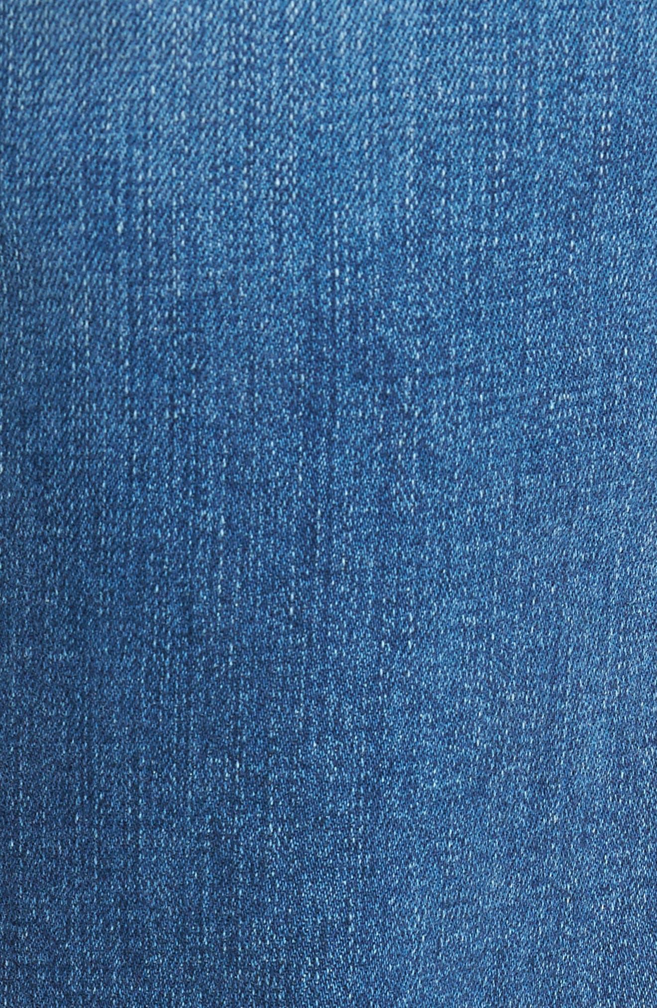 FRAME, L'Homme Slim Fit Jeans, Alternate thumbnail 6, color, BRADBURY