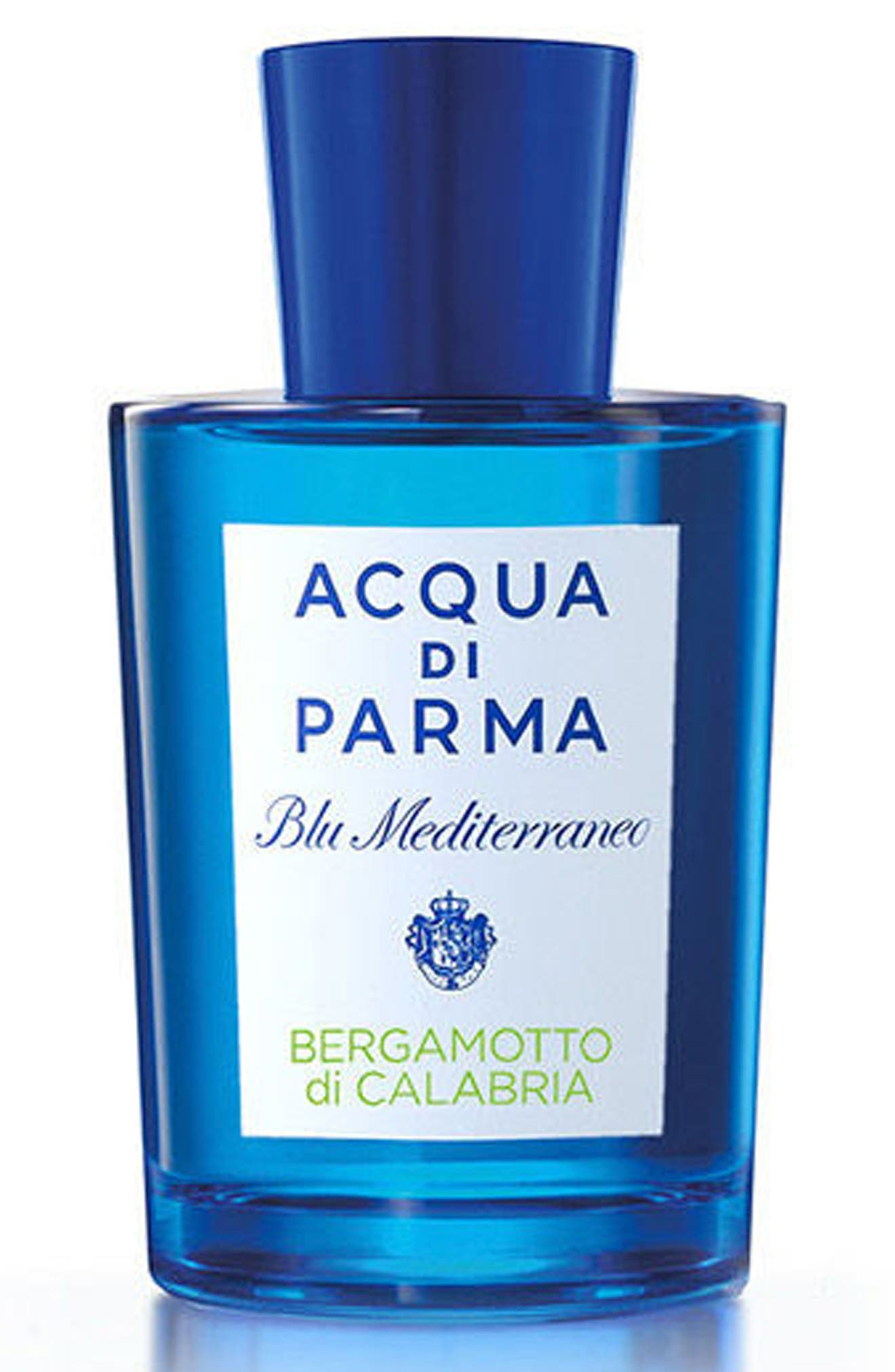 ACQUA DI PARMA, 'Blu Mediterraneo' Bergamotto di Calabria Eau de Toilette Spray, Alternate thumbnail 3, color, NO COLOR