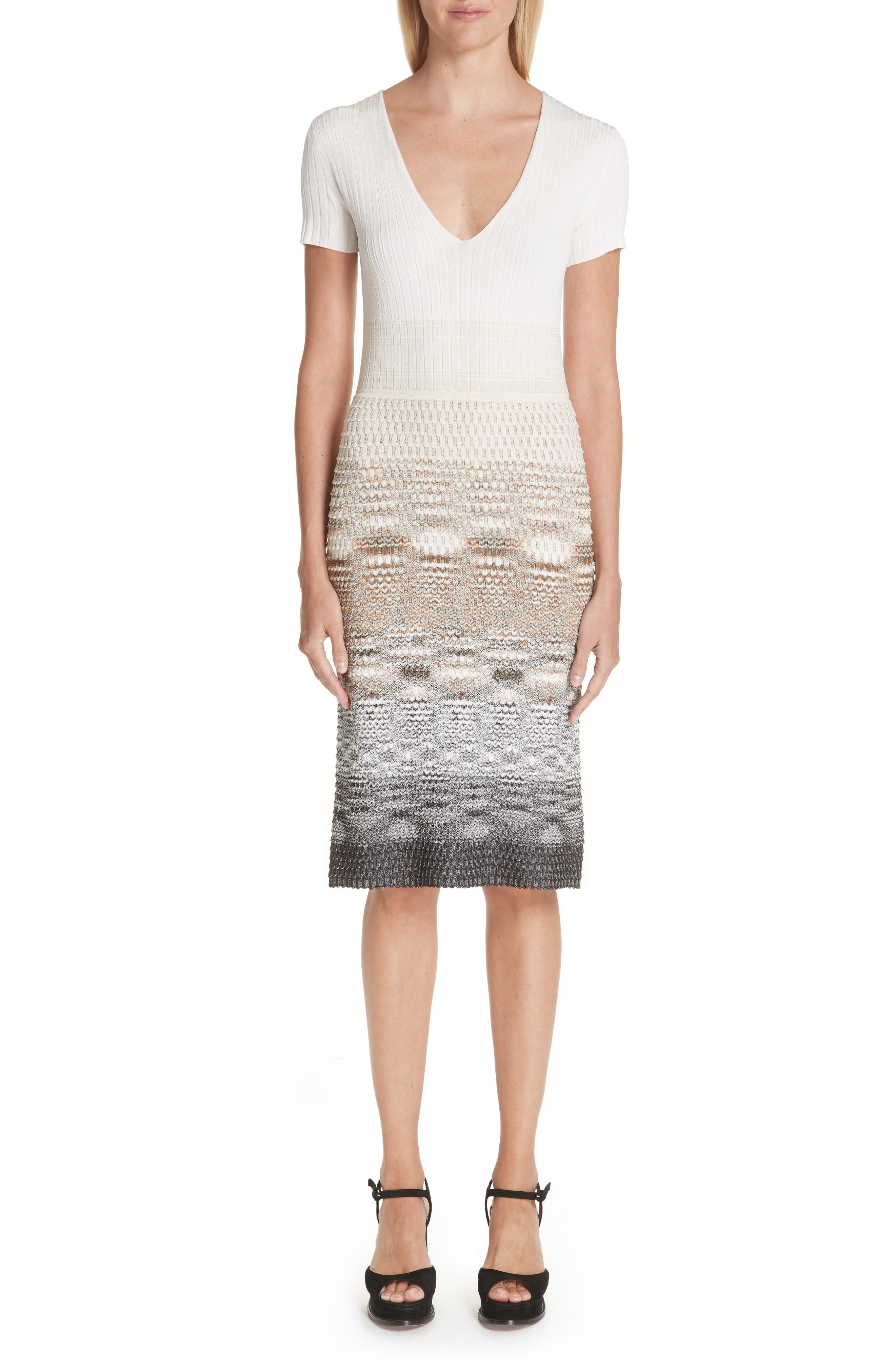 Missoni Knit Dress, US / 44 IT - Brown