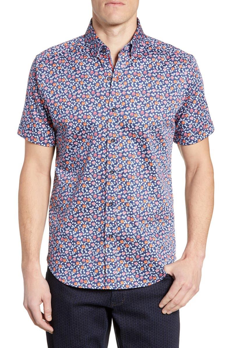 Robert Graham T-shirts Roark Tailored Fit Sport Shirt