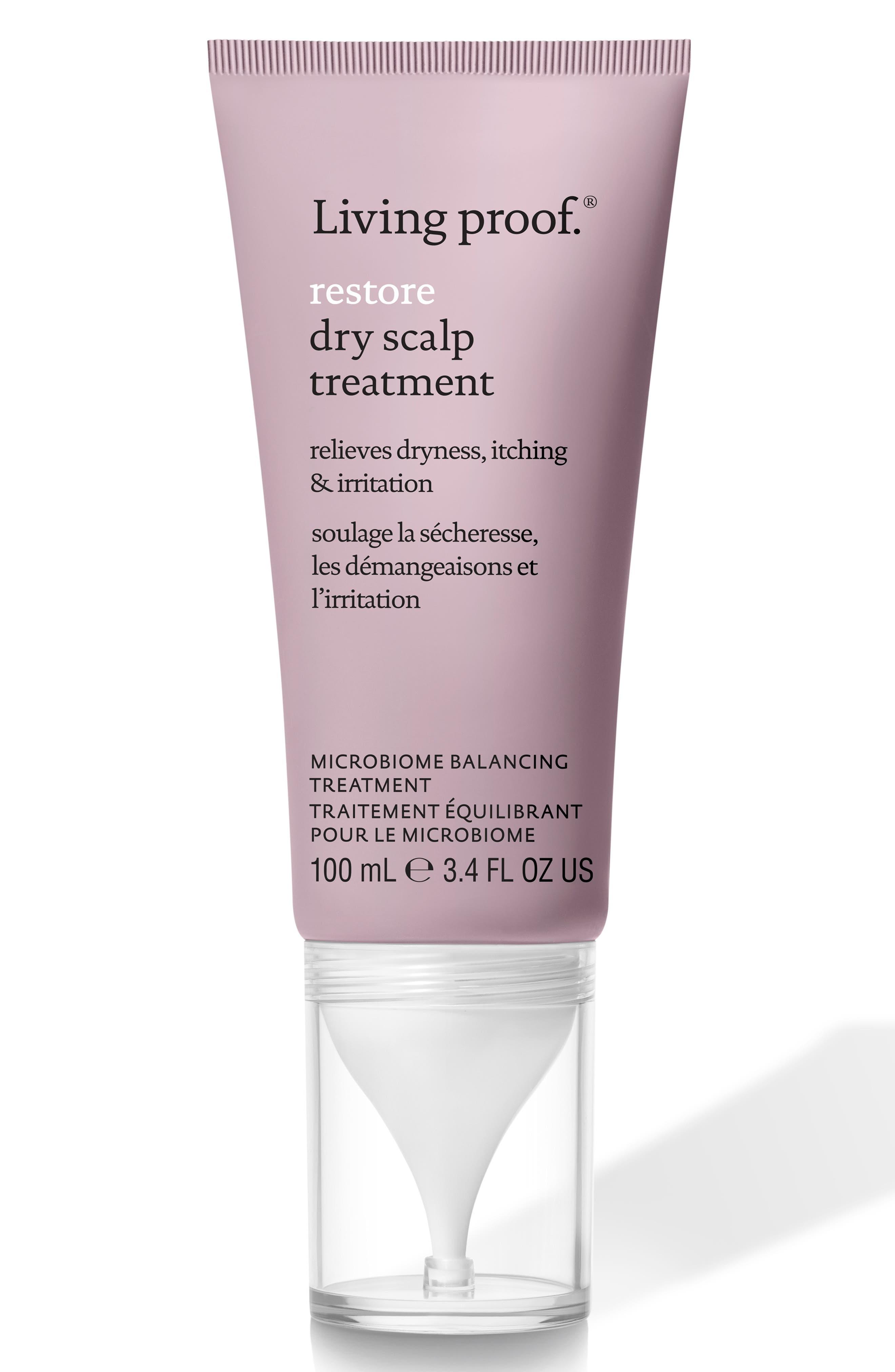 LIVING PROOF<SUP>®</SUP>, Restore Dry Scalp Treatment, Main thumbnail 1, color, NO COLOR