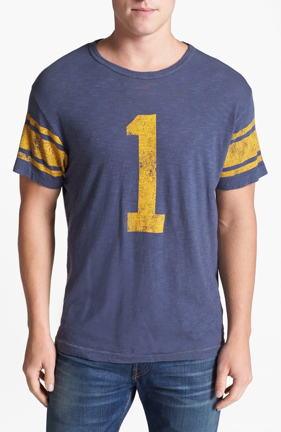 TODD SNYDER + CHAMPION, 'City Gym - Classic' Crewneck T-Shirt, Main thumbnail 1, color, 410