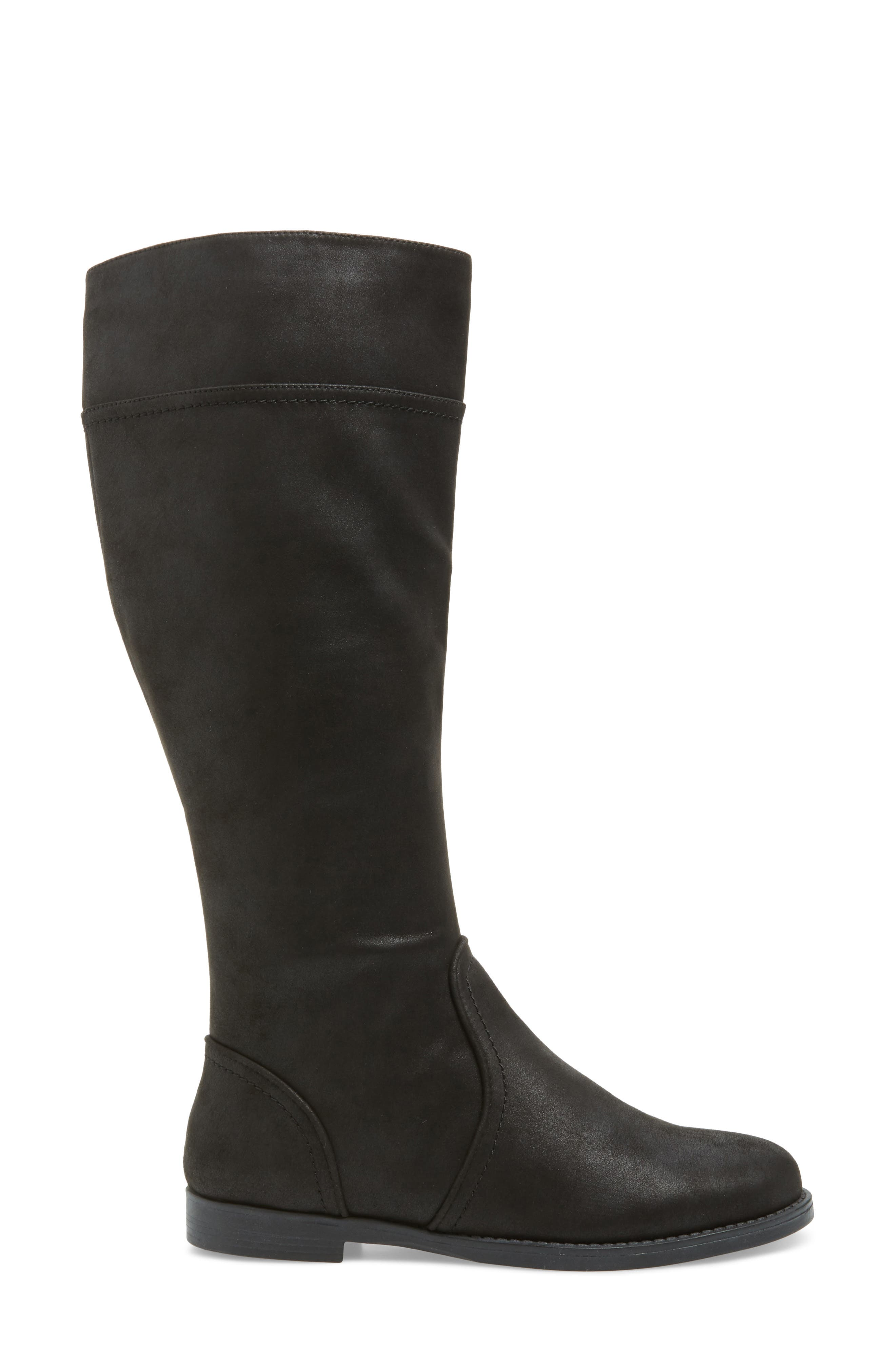 BELLA VITA, Rebecca II Knee High Boot, Alternate thumbnail 3, color, 001