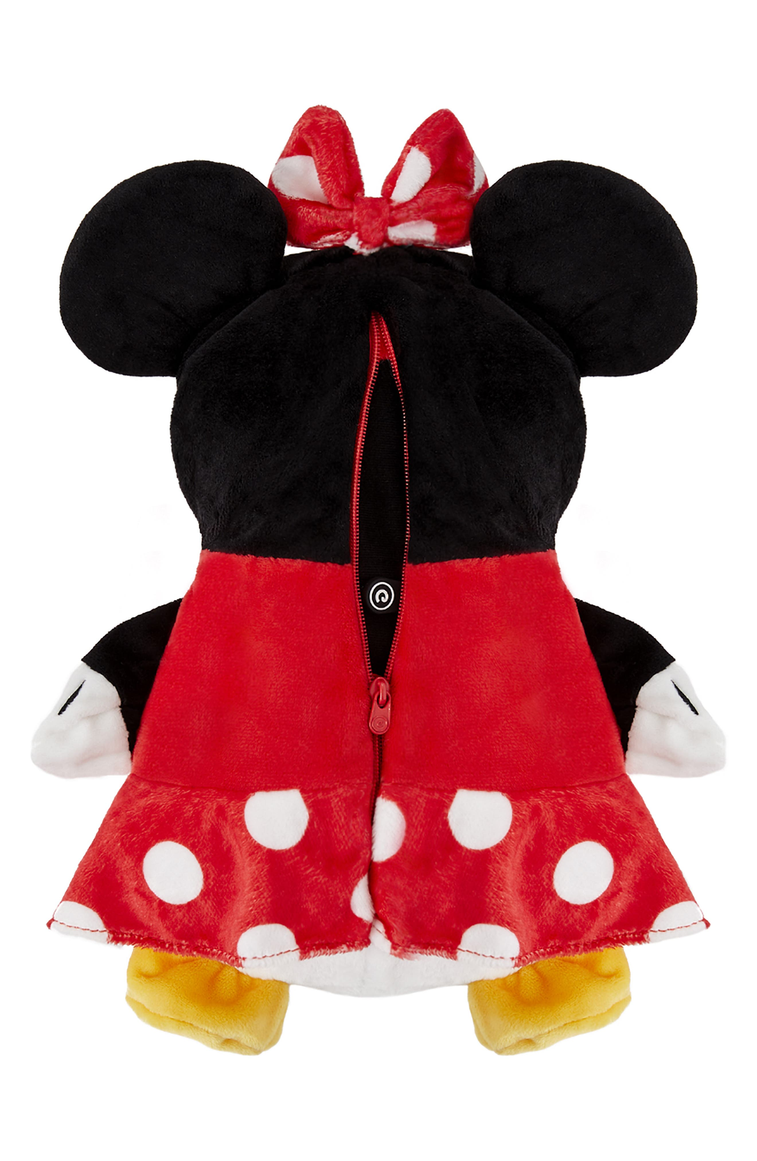 CUBCOATS, Disney Minnie Mouse 2-in-1 Stuffed Animal Hoodie, Alternate thumbnail 6, color, 001