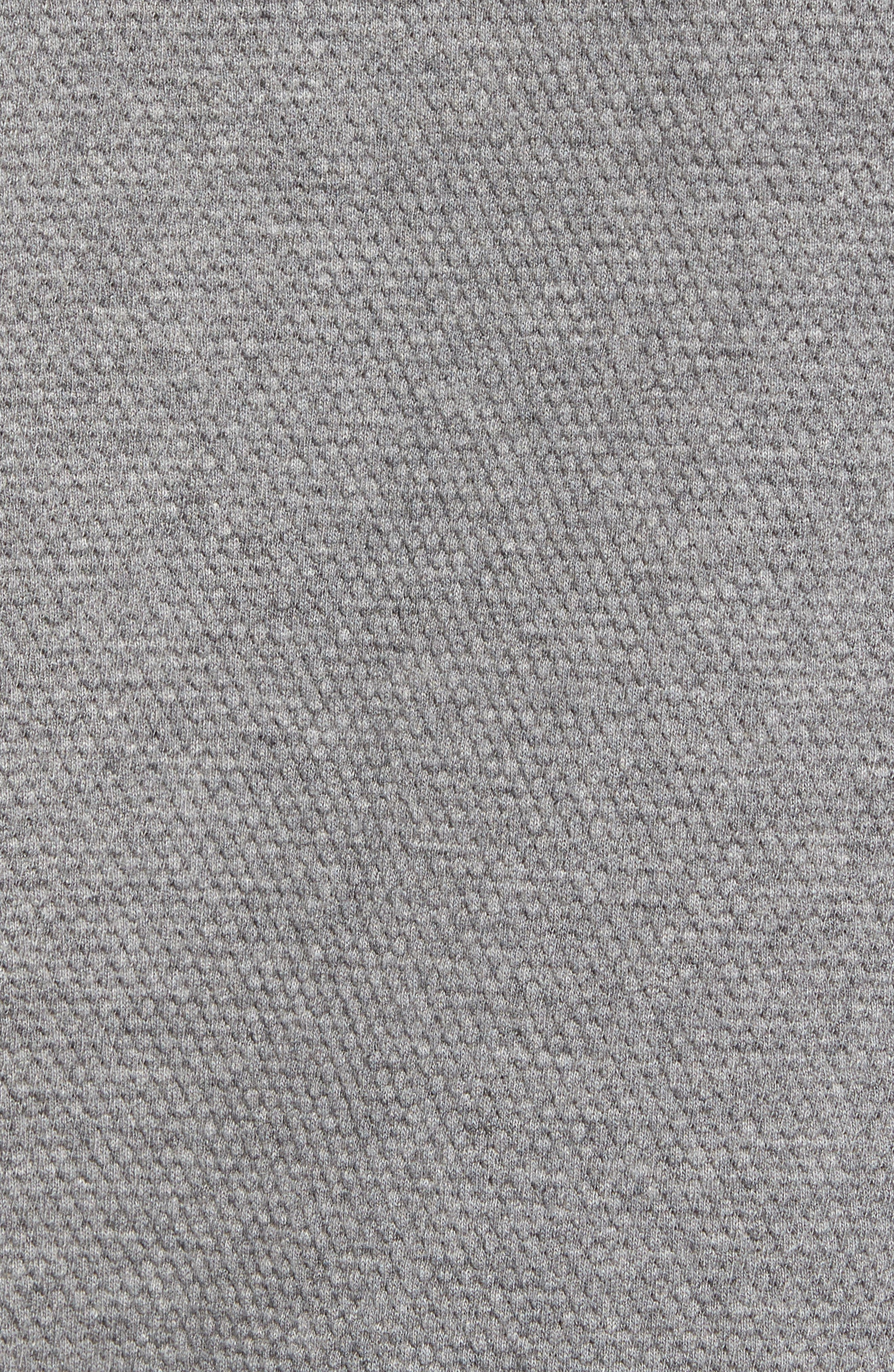 FRENCH CONNECTION, Ampthill Pebble Knit Polo, Alternate thumbnail 5, color, 020