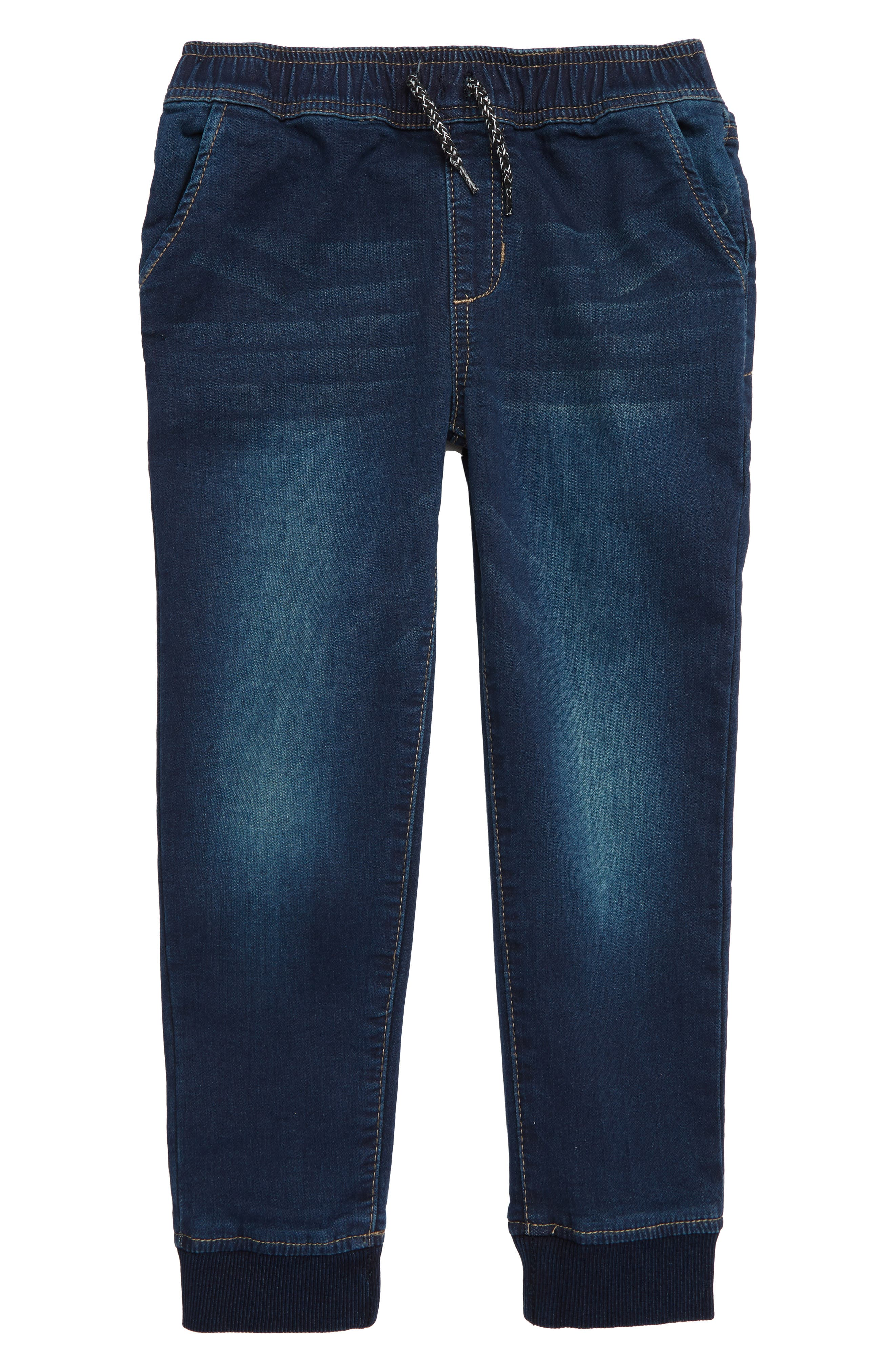 JOE'S The Jogger Slim Fit Knit Pants, Main, color, MARINE WASH