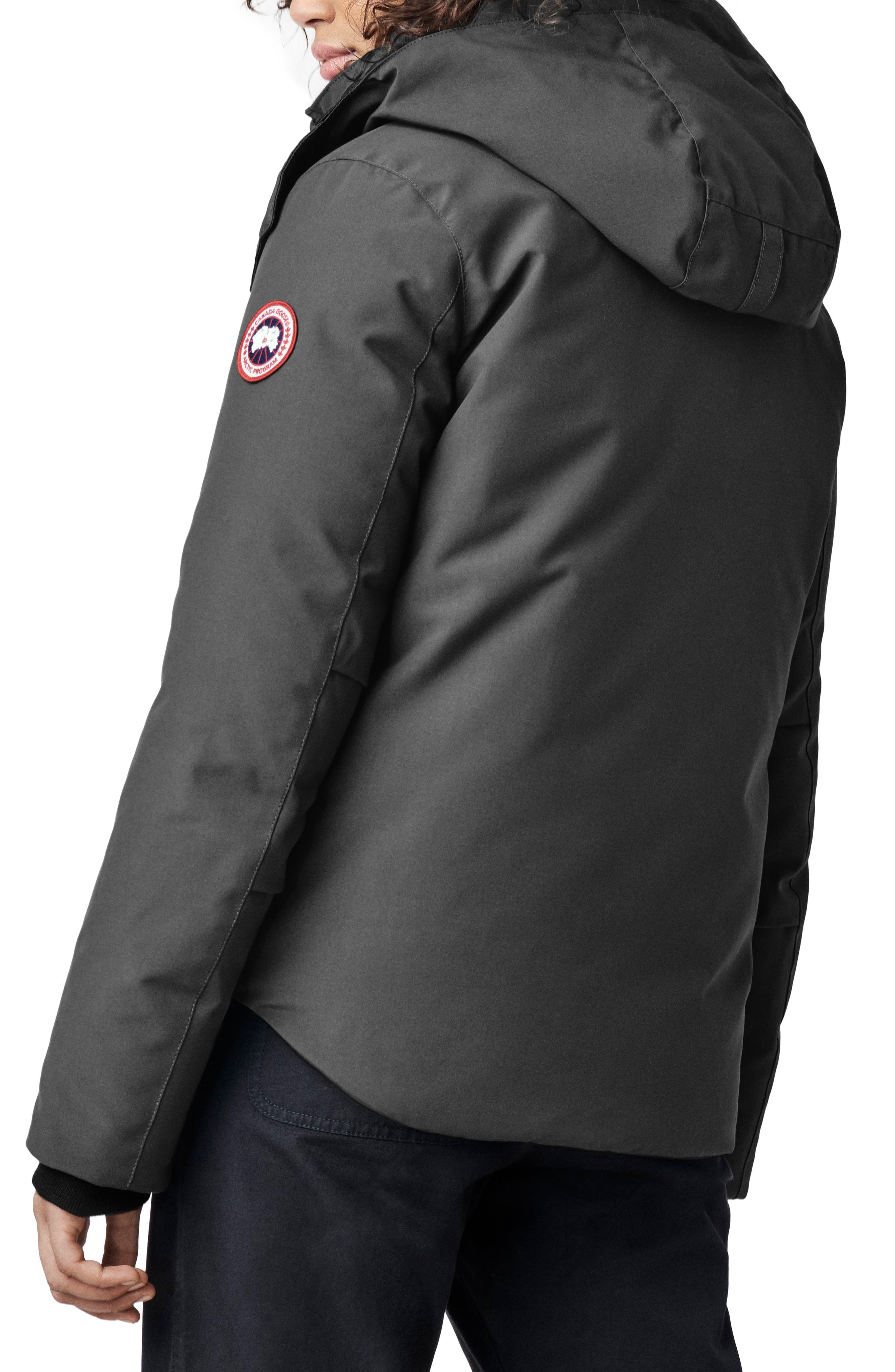 CANADA GOOSE, Blakely Water Resistant 625 Fill Power Down Parka, Alternate thumbnail 2, color, GRAPHITE